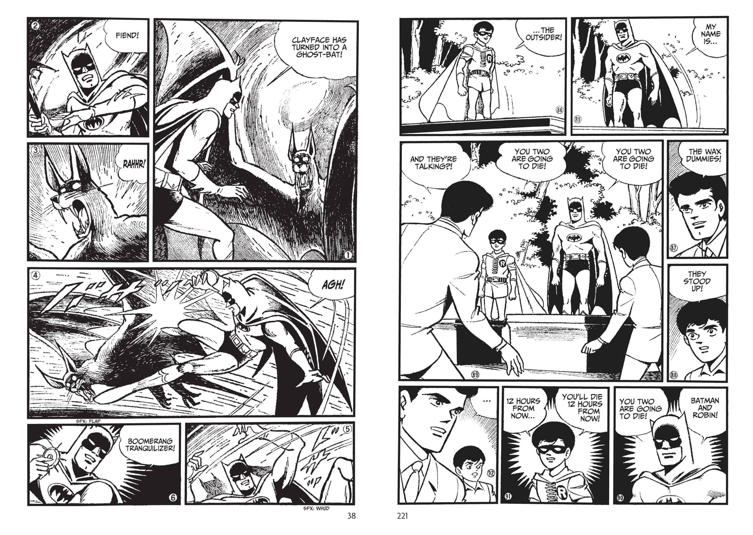 Batman - The Jiro Kuwata Batmanga V2 review