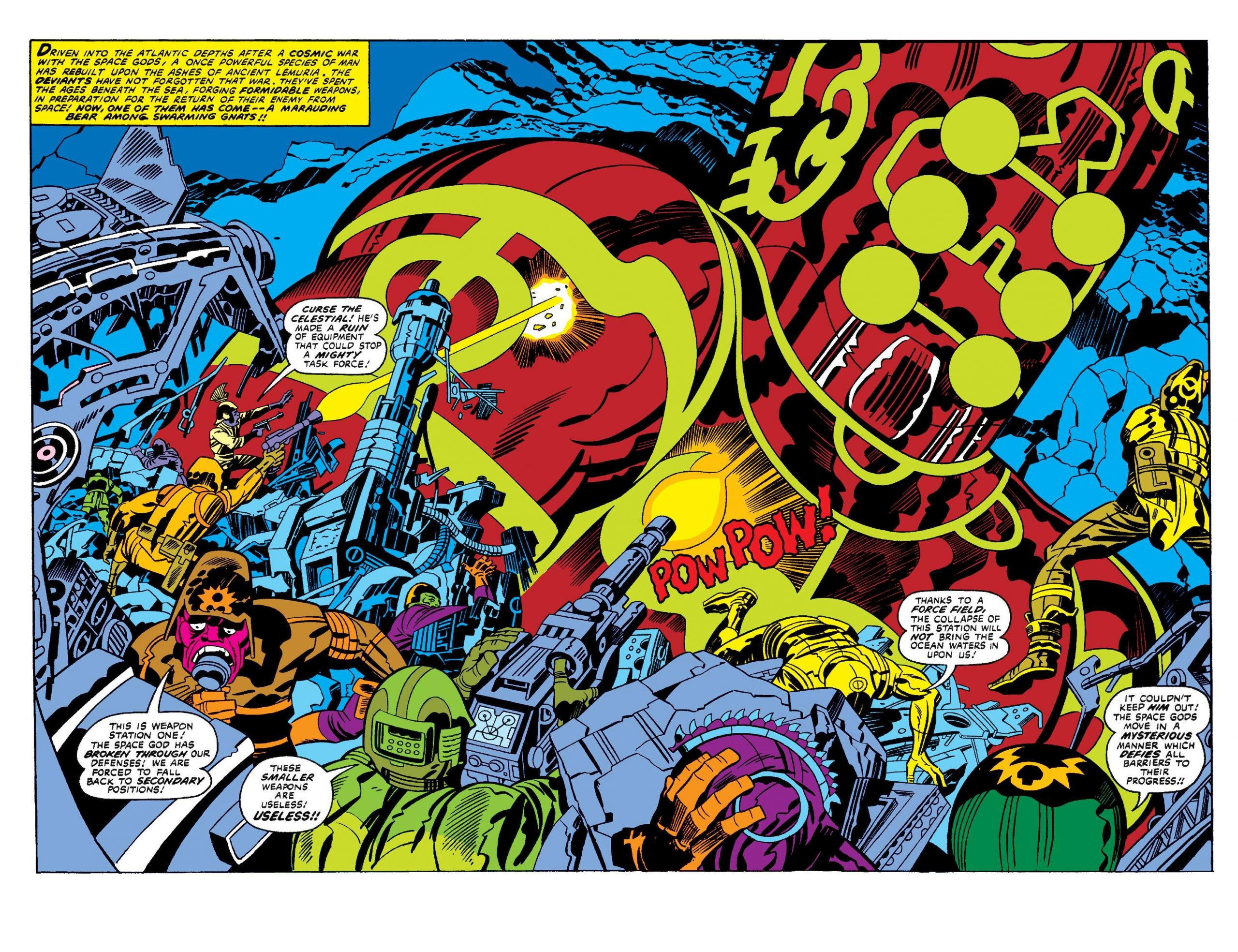 The Eternals by Jack Kirby review
