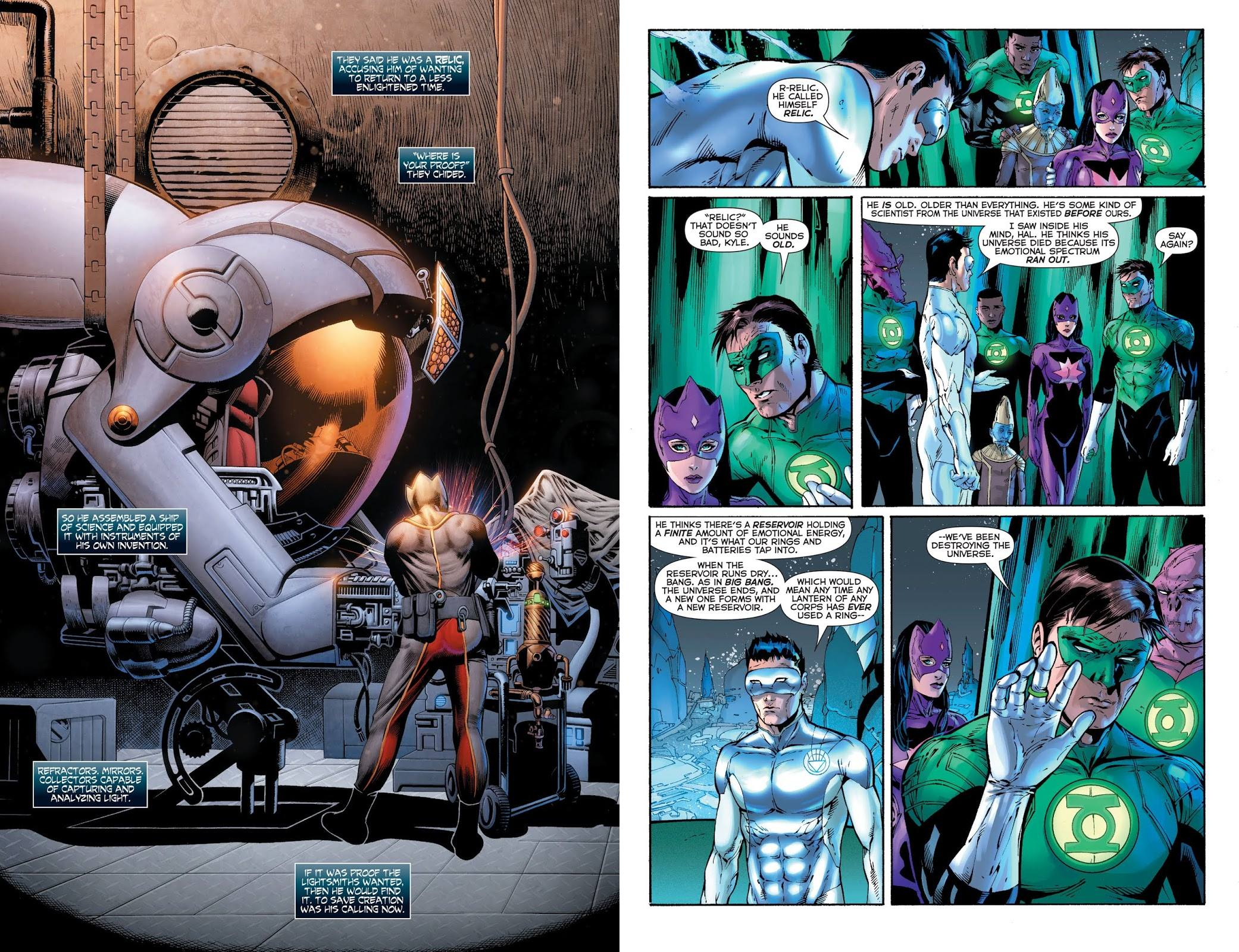 Green Lantern Lights Out review
