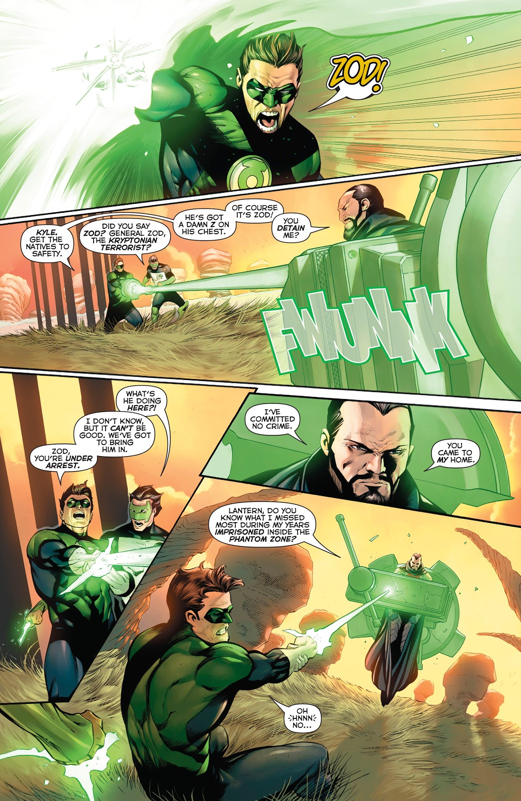 Hal Jordan and the Green Lantern Corps V6 Zod's Law review