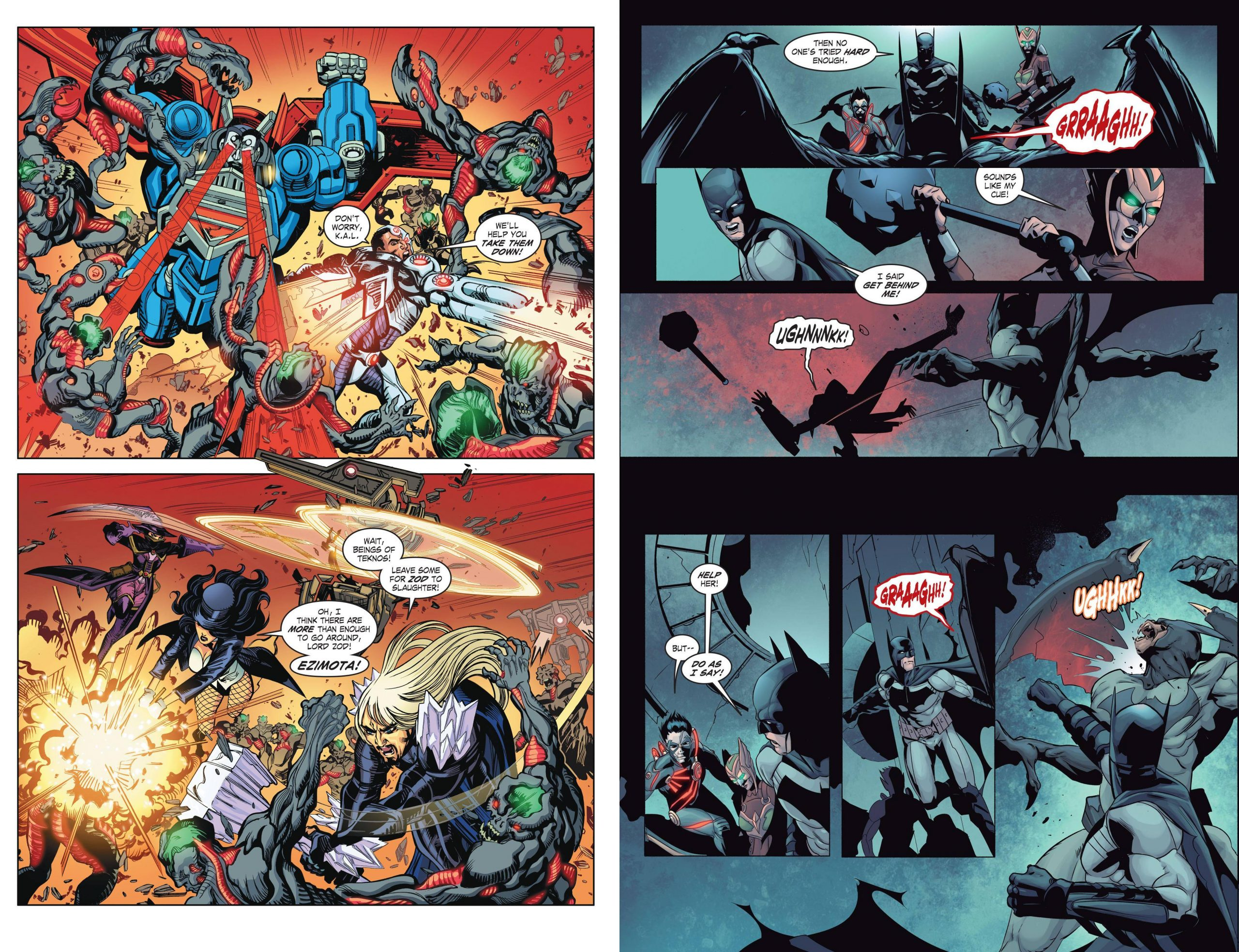 Infinite Crisis Fight for the Multiverse V2 review