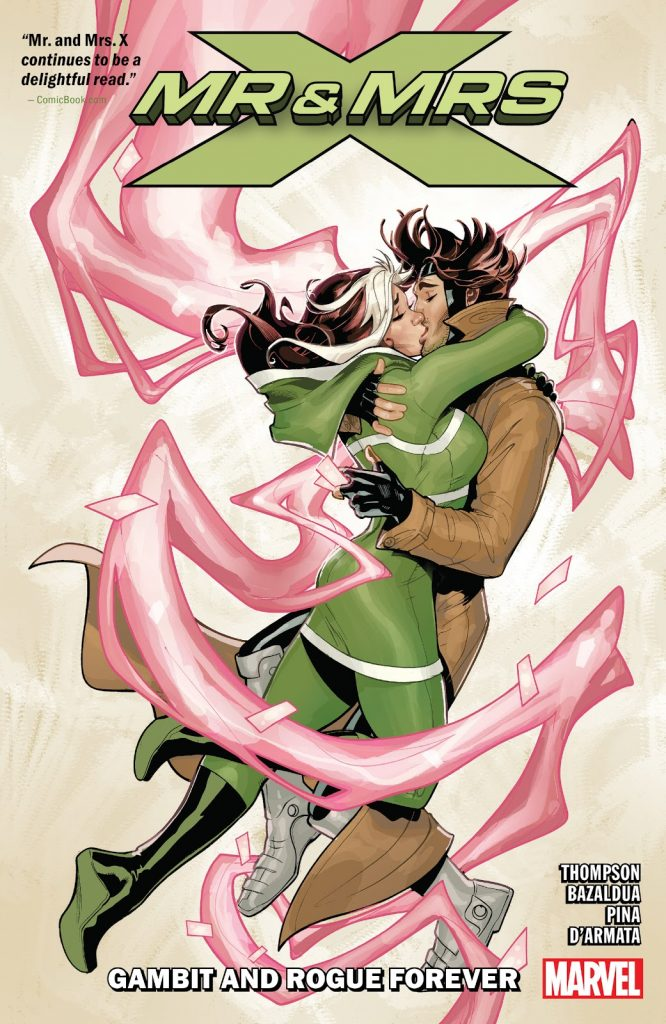 Mr & Mrs X Vol. 2: Gambit and Rogue Forever