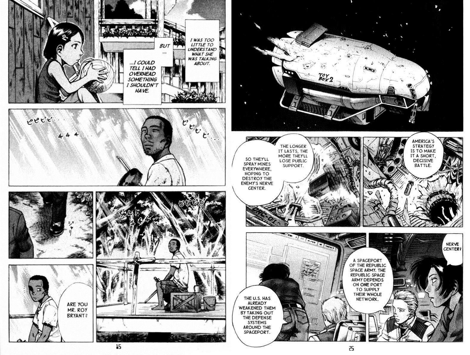 Planetes graphic novel review