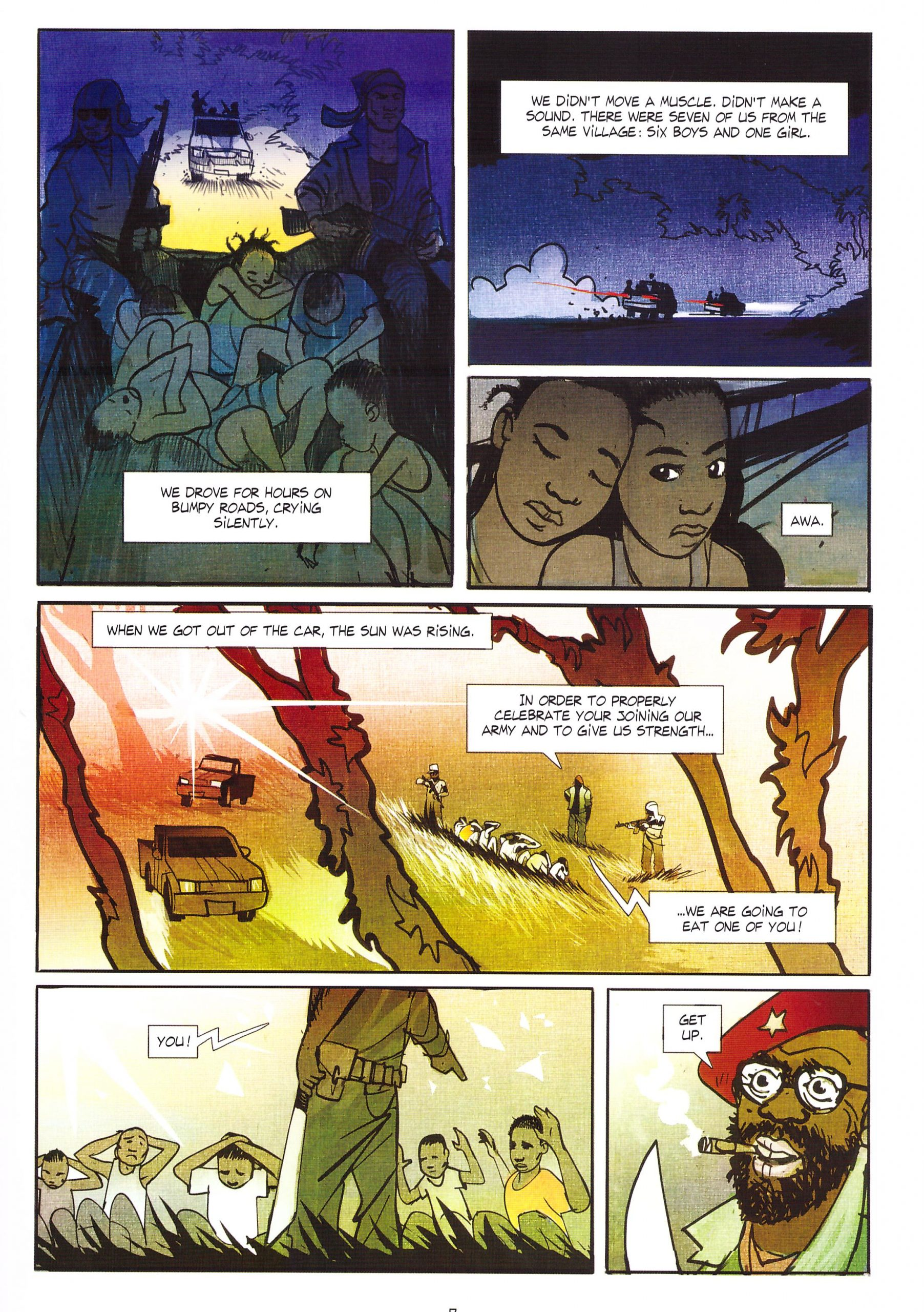 Tamba Child Soldier review
