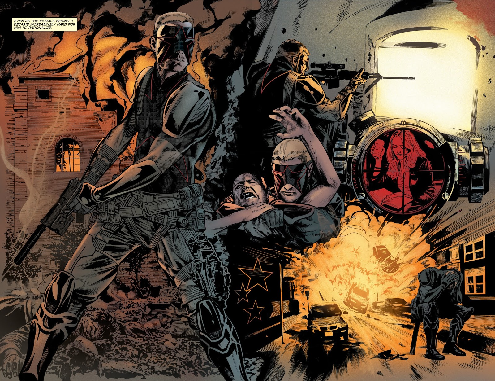 The Dead Hand graphic novel review