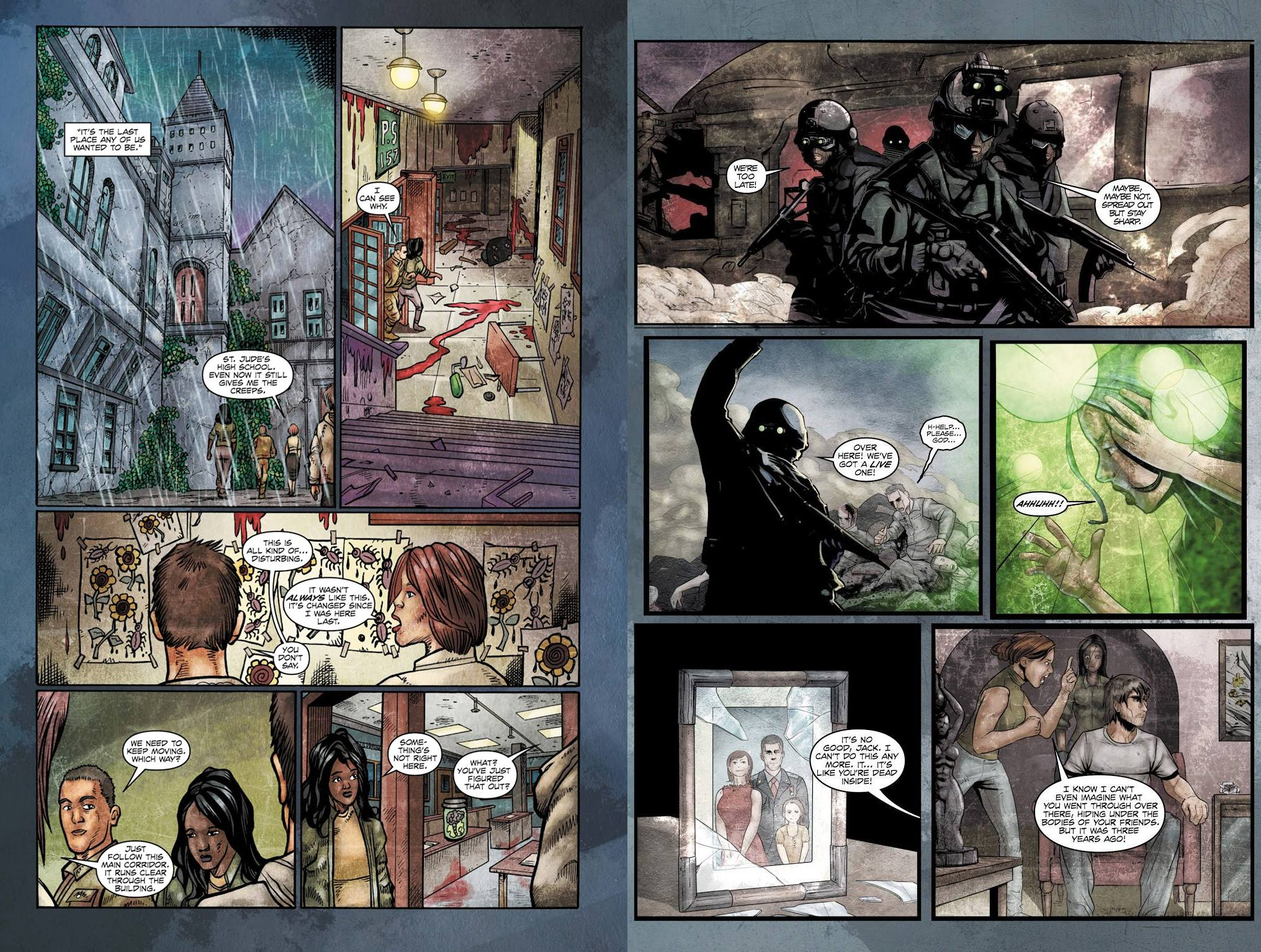 The Evil Within graphic novel review