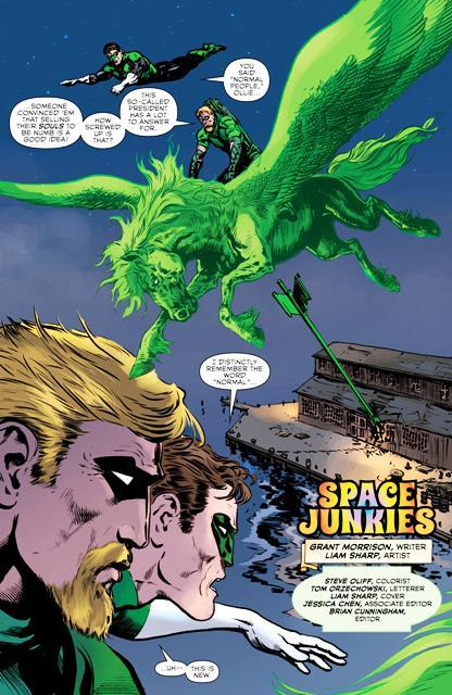 The Green Lantern The Day The Stars Fell Review