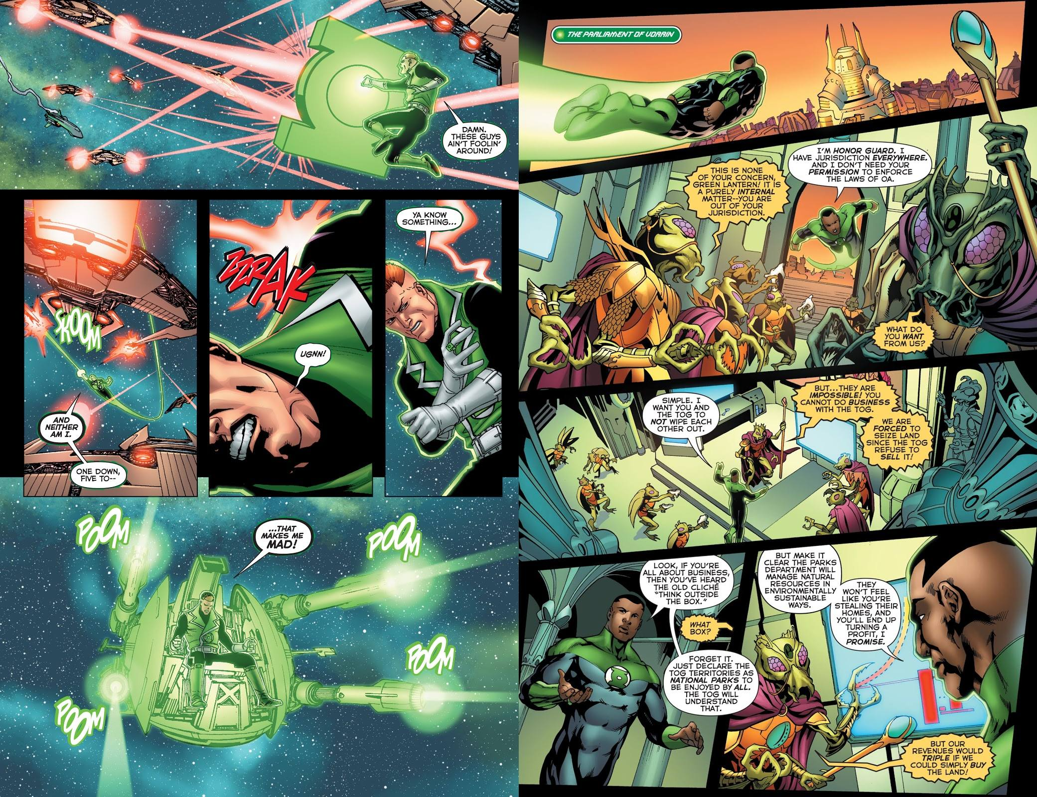 War of the Green Lanterns Aftermath review