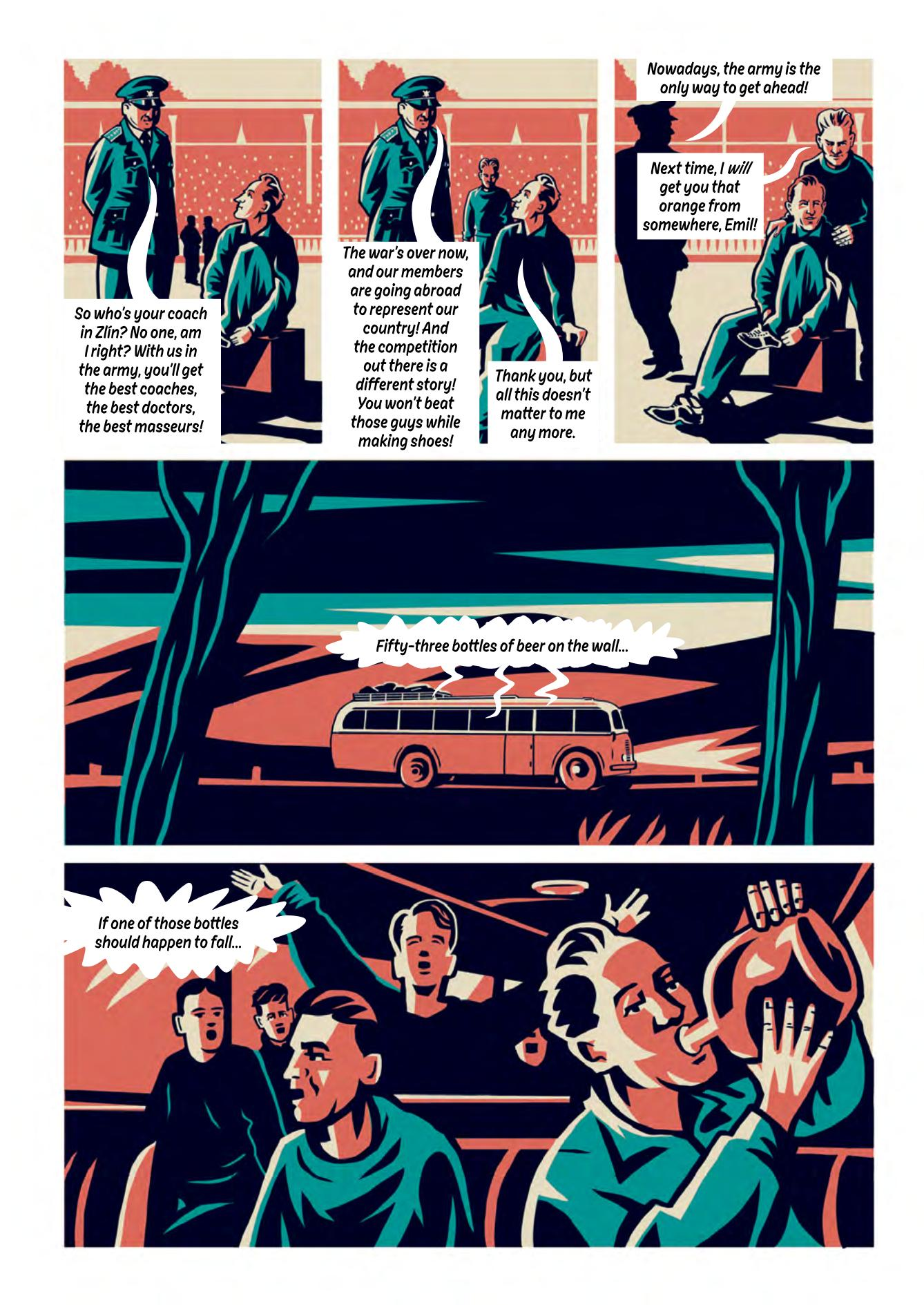 Zatopek graphic novel review