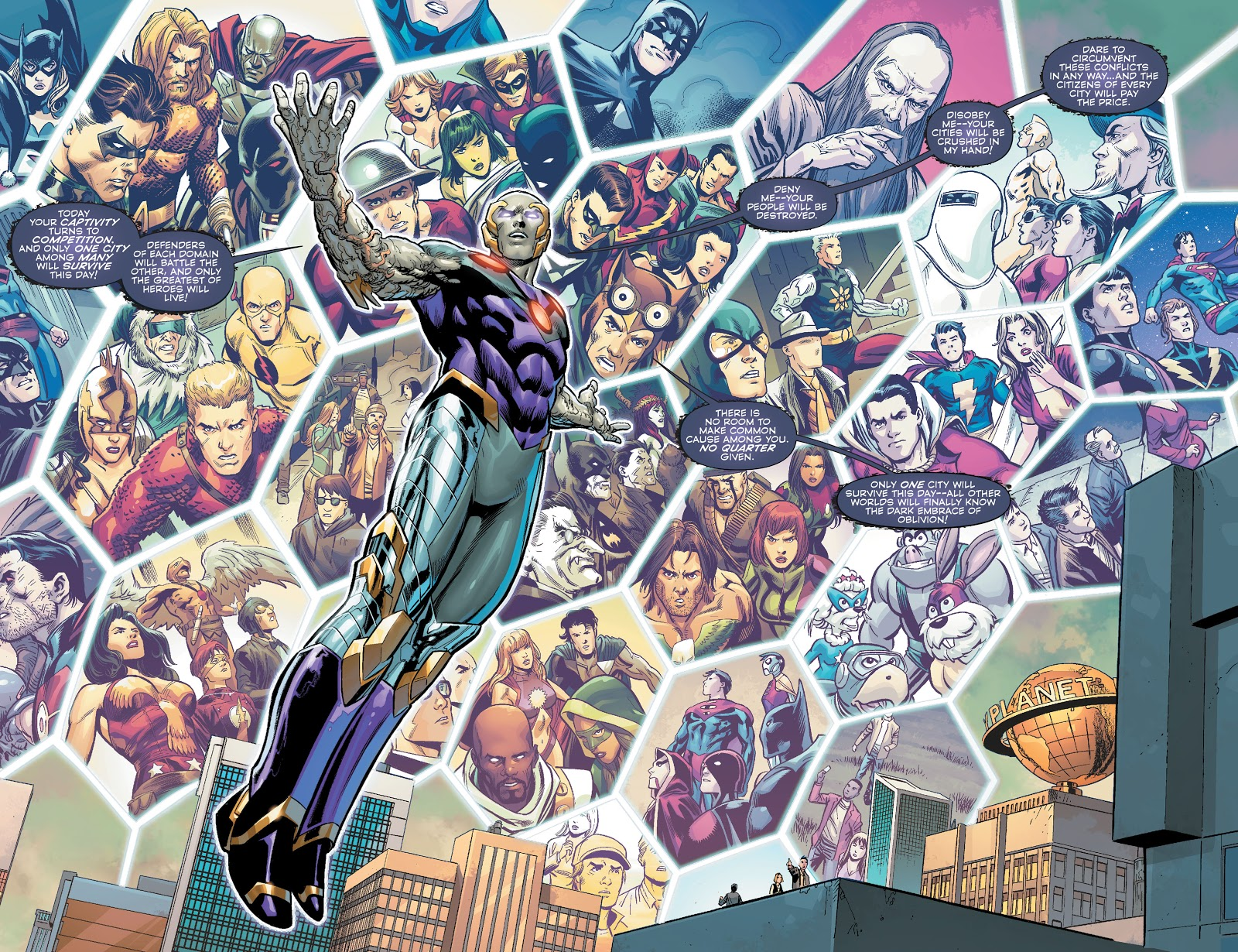 Convergence graphic novel review