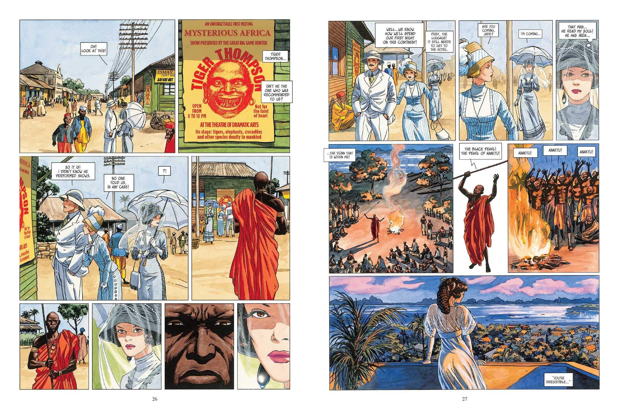 Djinn Vol 3 graphic novel review