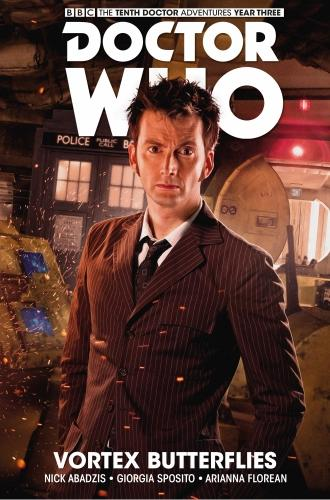 Doctor Who: The Tenth Doctor Vol. 9 – Facing Fate – Vortex Butterflies