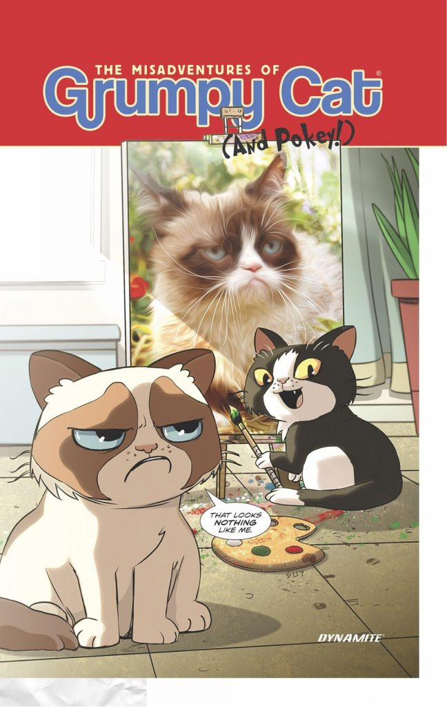The Misadventures of Grumpy Cat (and Pokey)