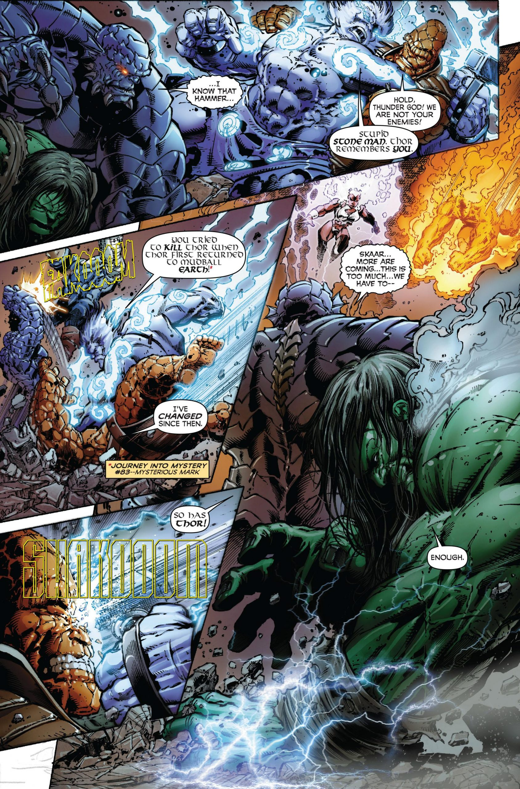Incredible Hulk - World War Hulks review