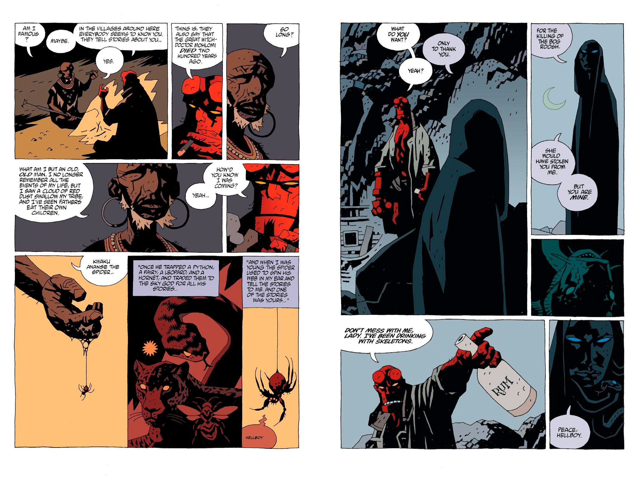 Hellboy Library Edition Vol 3 review