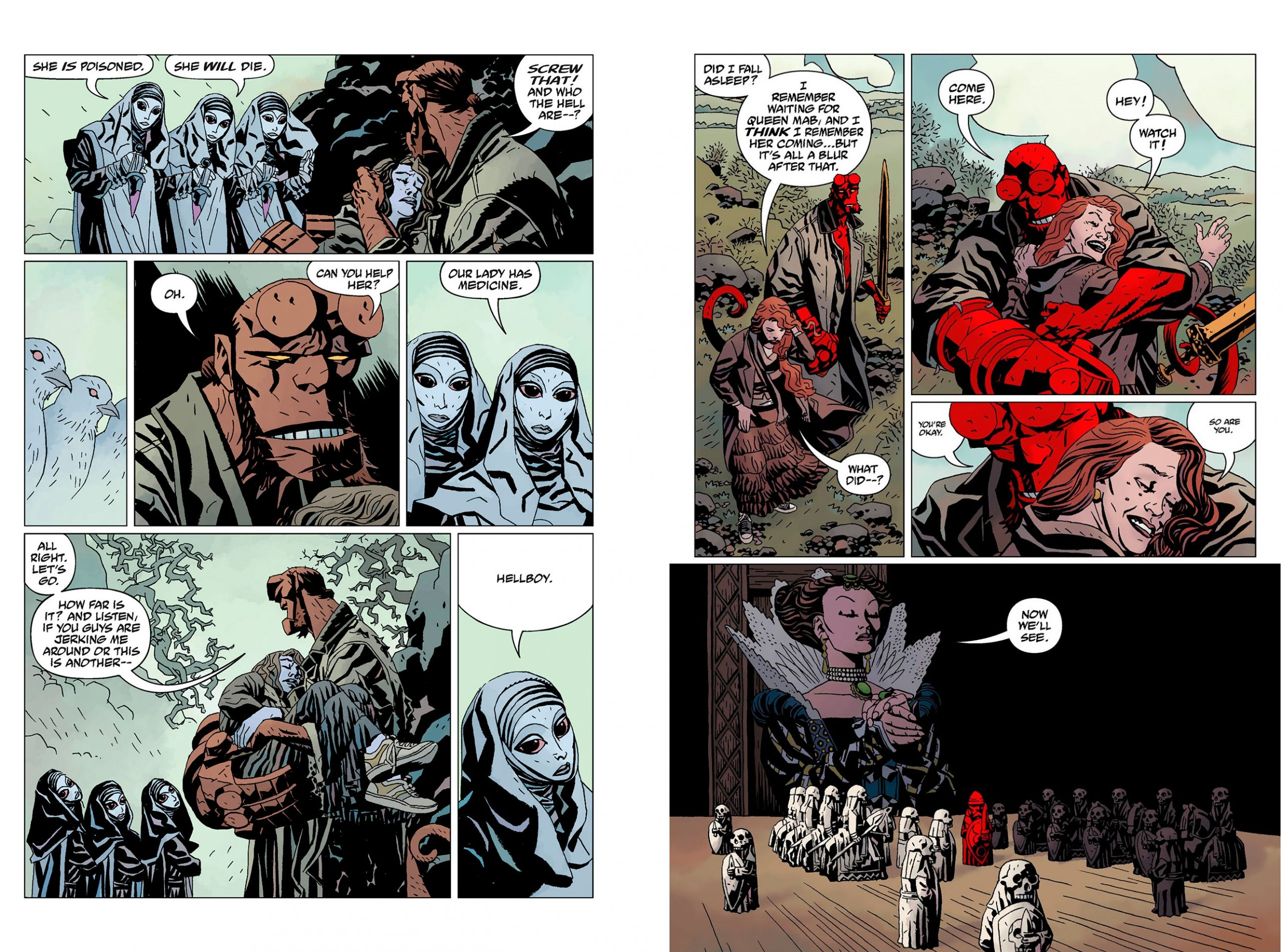 Hellboy Library Edition Vol 5 review