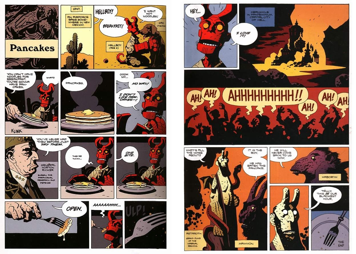 Hellboy The Right Hand of Doom