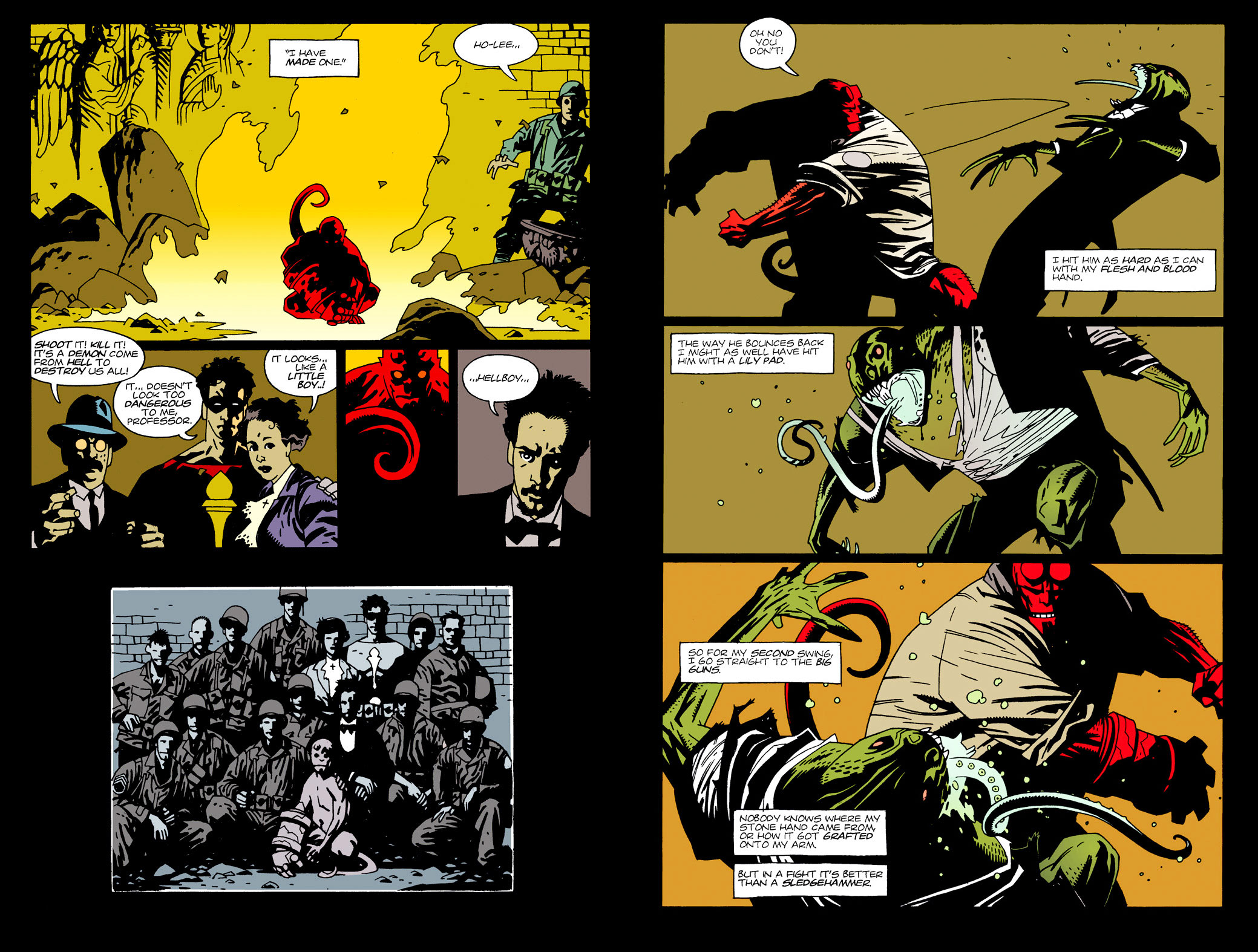 Hellboy Seed of Destruction review