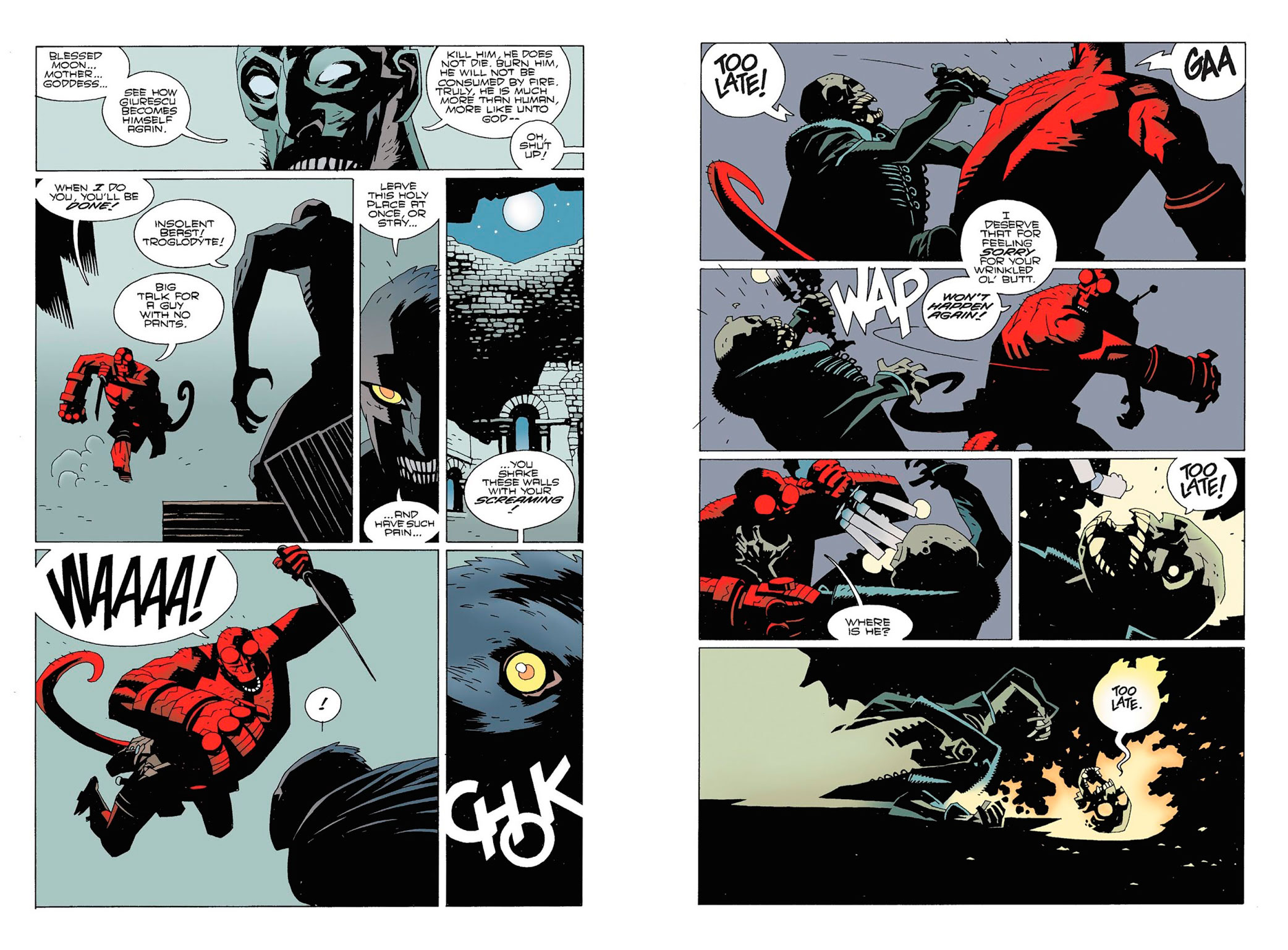 Hellboy Wake the Devil review