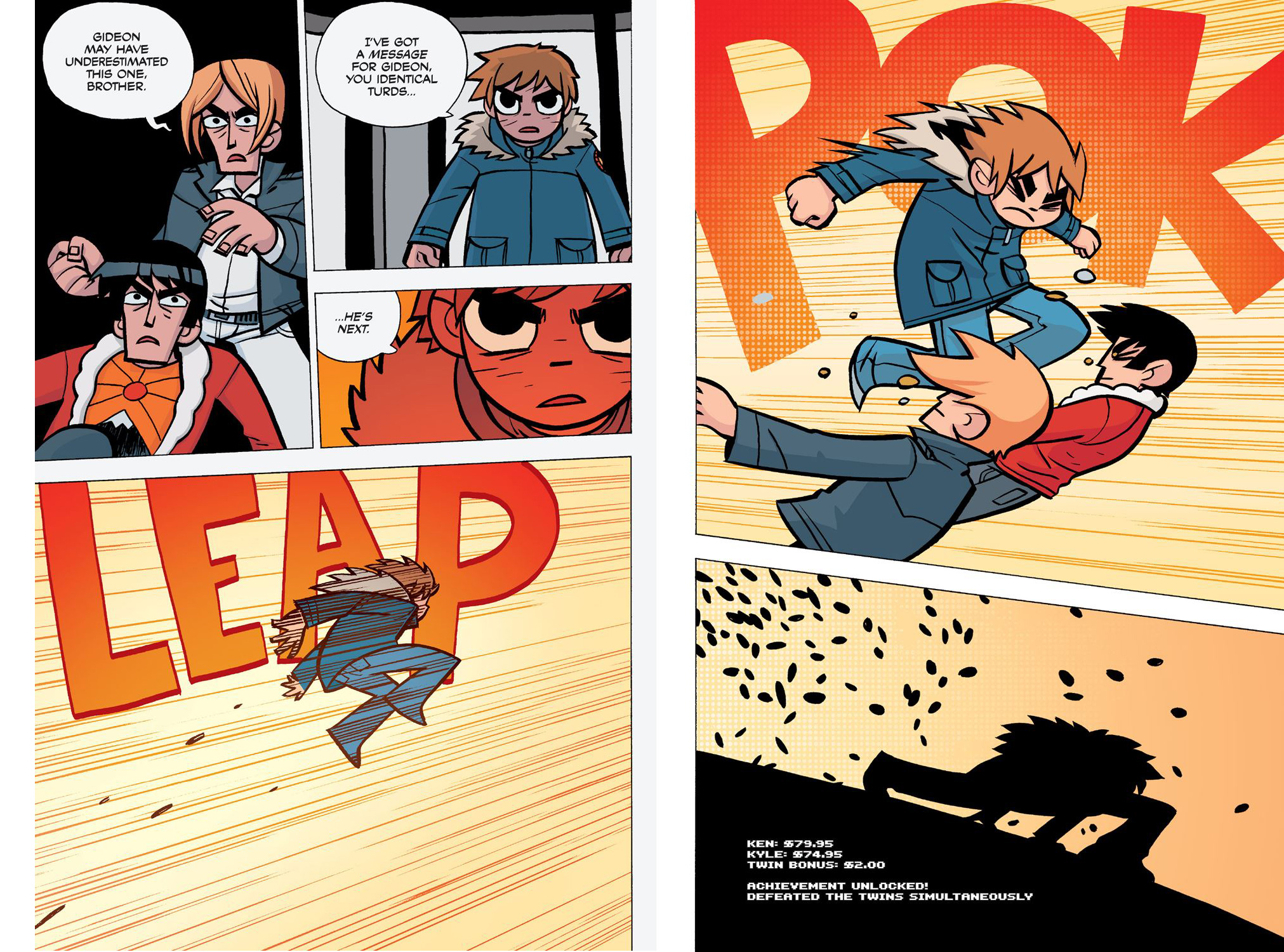 Scott Pilgrim Vol 5 colour review