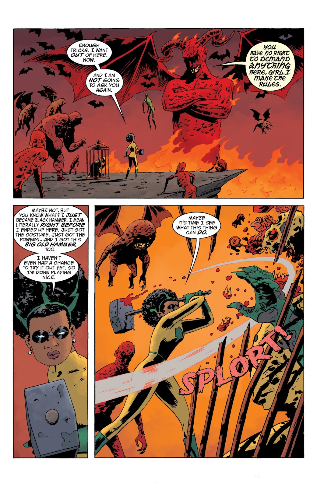 Black Hammer Age of Doom Part 1 review