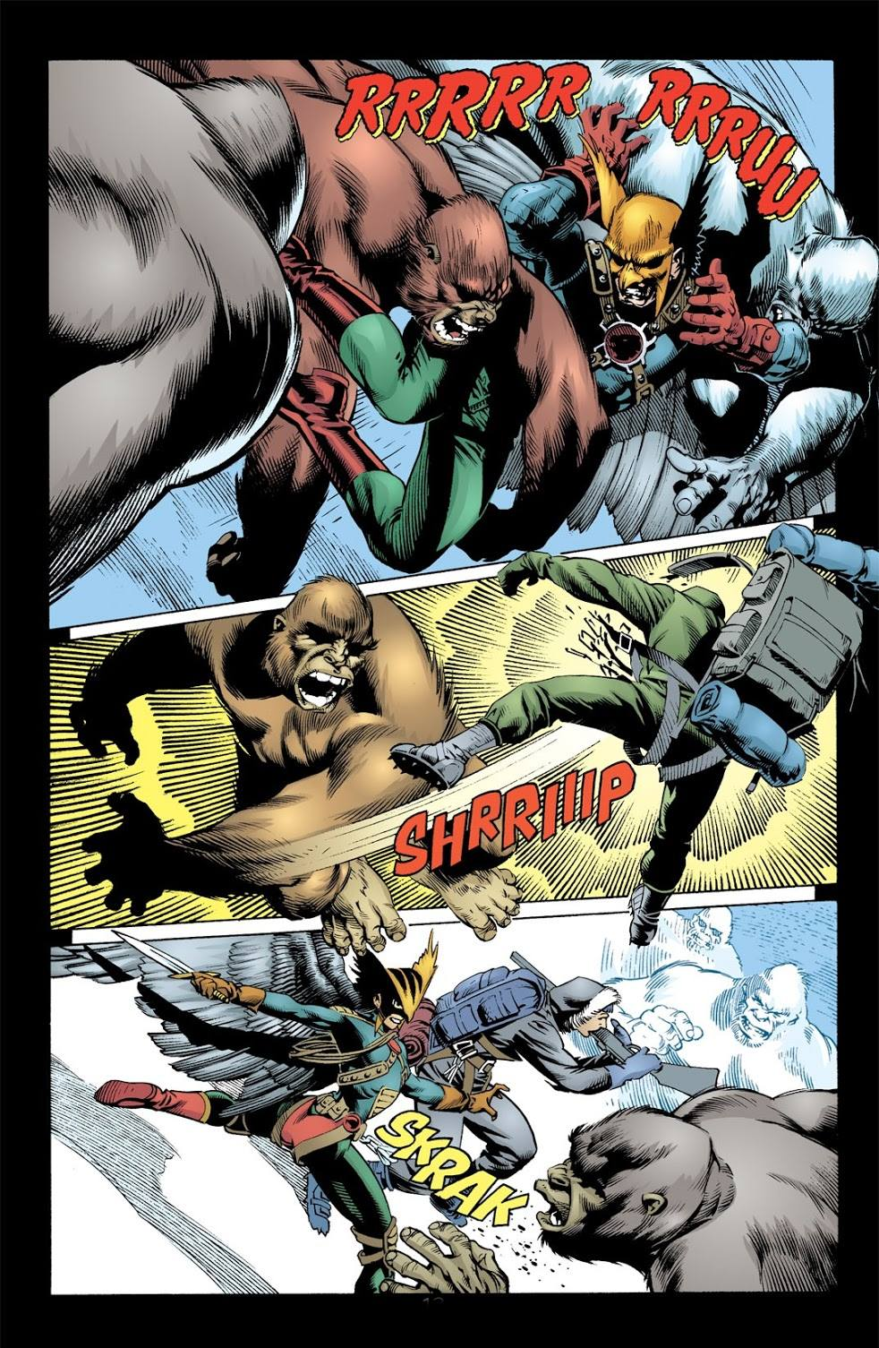 Hawkman Allies and Enemies review