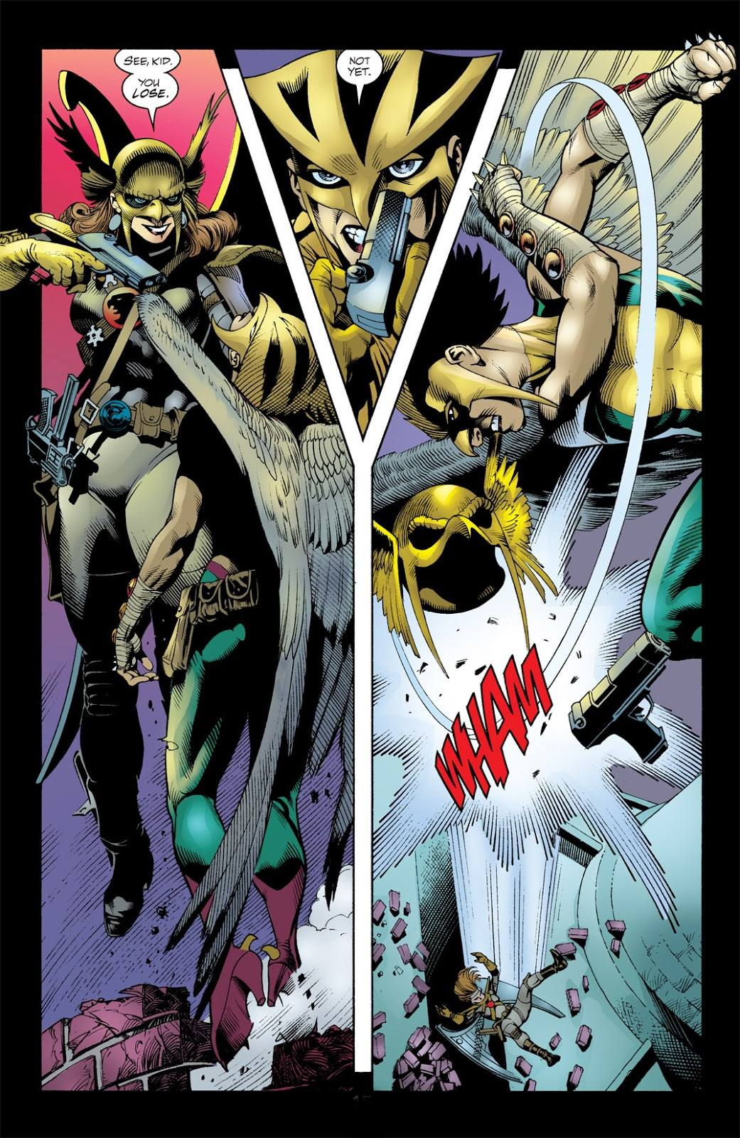 Hawkman Wings of Fury review