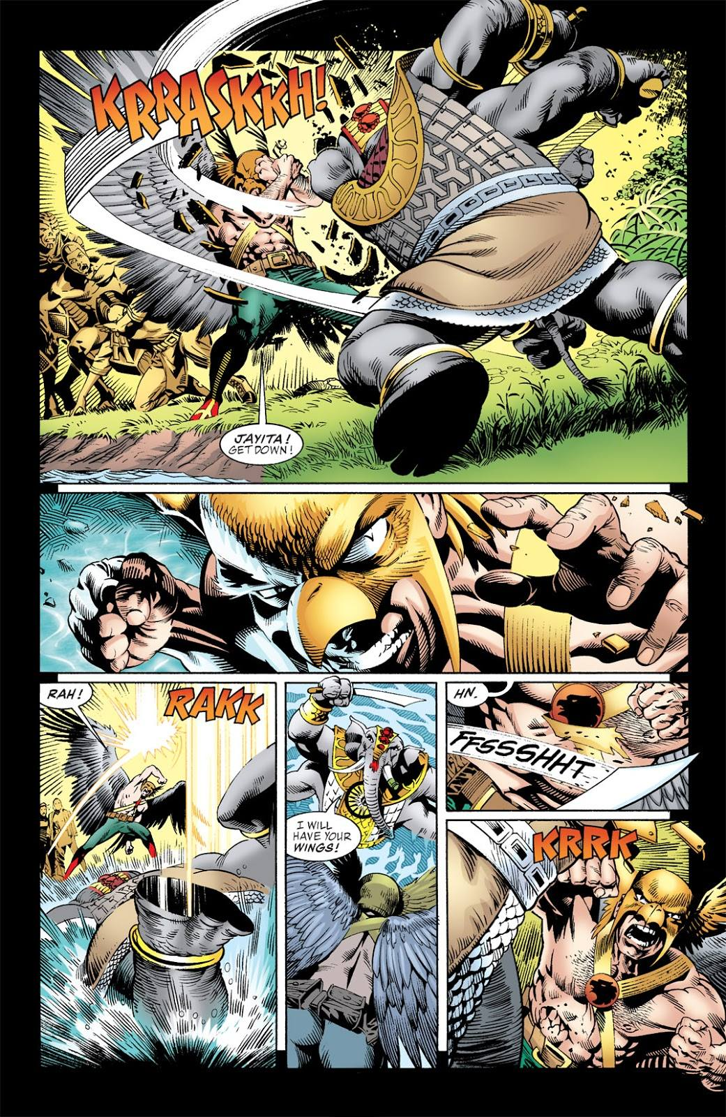 Geoff Johns Hawkman Volume One review
