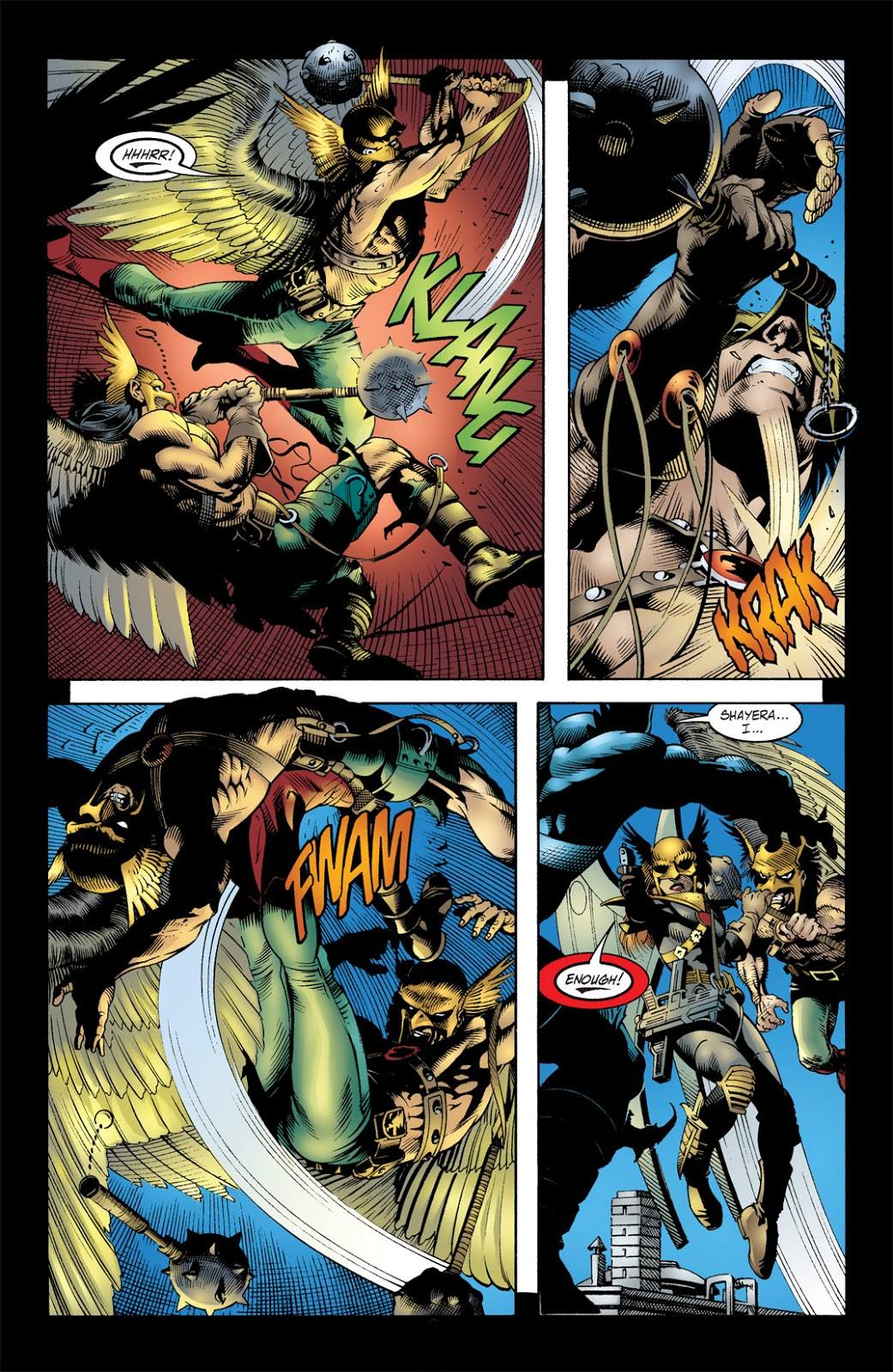 Geoff Johns Hawkman Volume Two review
