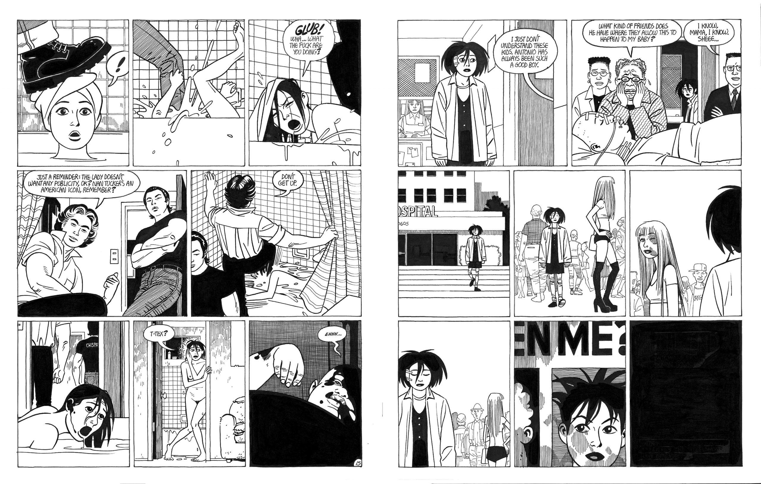 Locas II graphic novel review