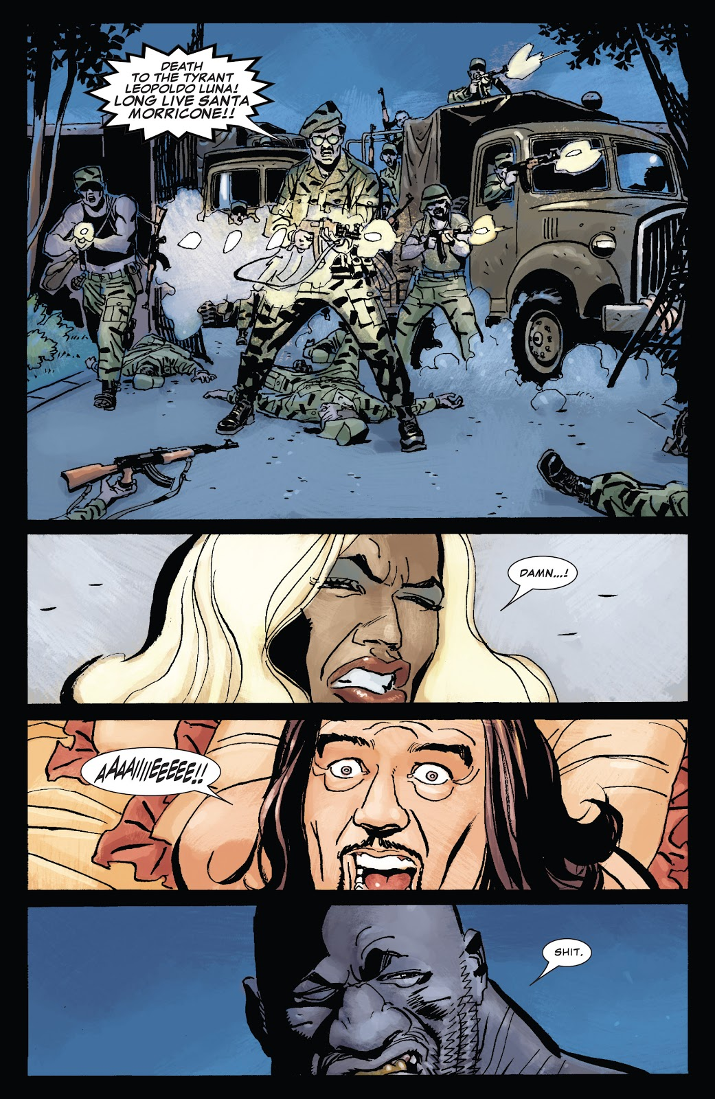 Punisher Presents Barracuda review