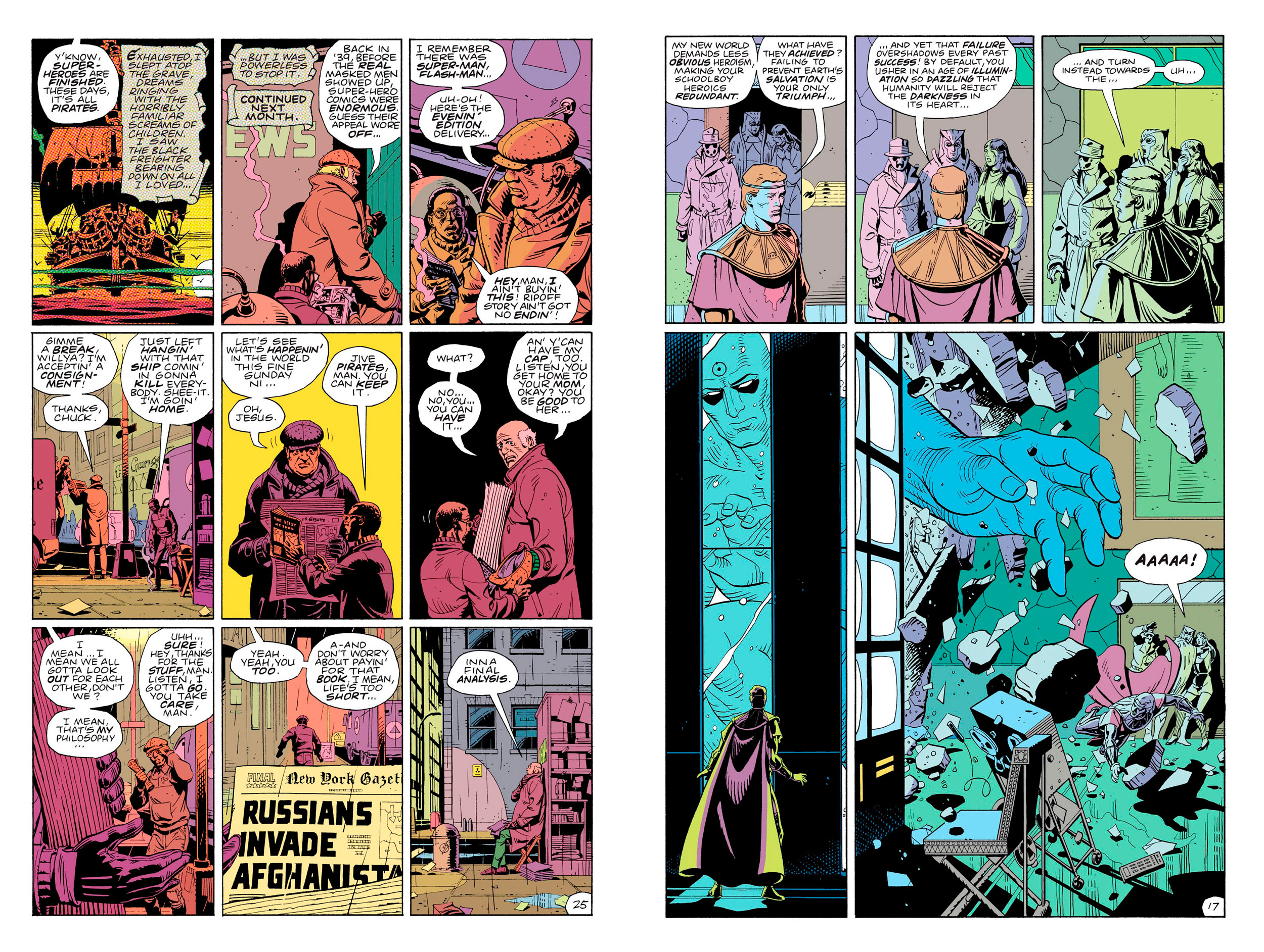 Watchmen graphic novel review