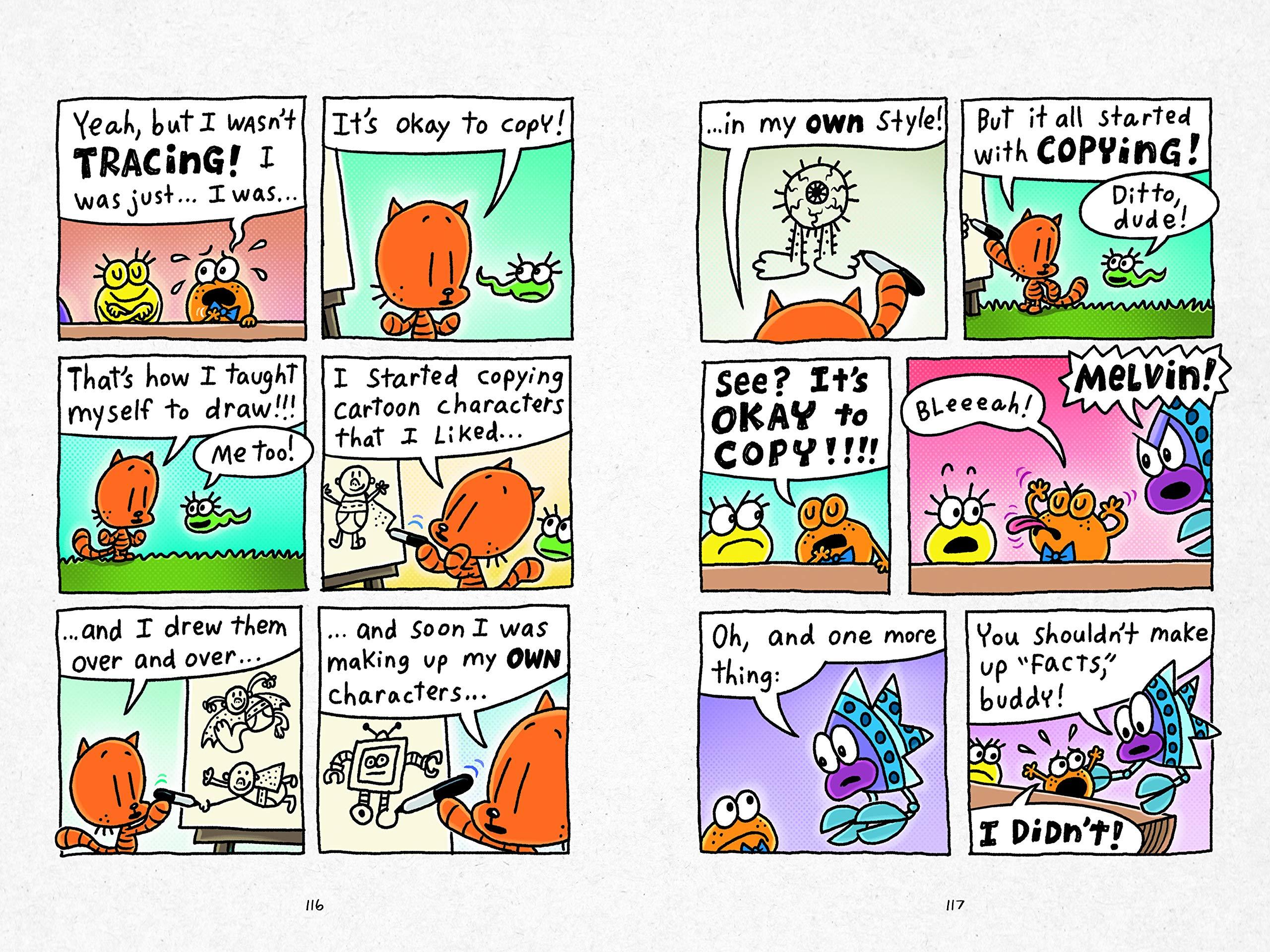 Dav Pilkey Cat KId Comic Club review