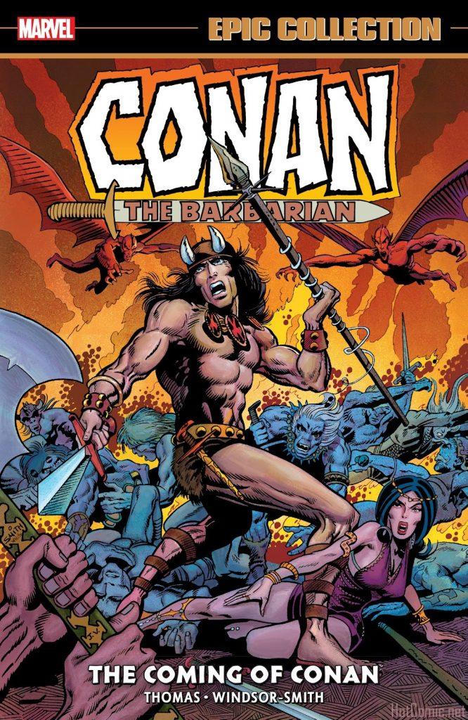 Marvel Epic Collection: Conan the Barbarian – The Coming of Conan
