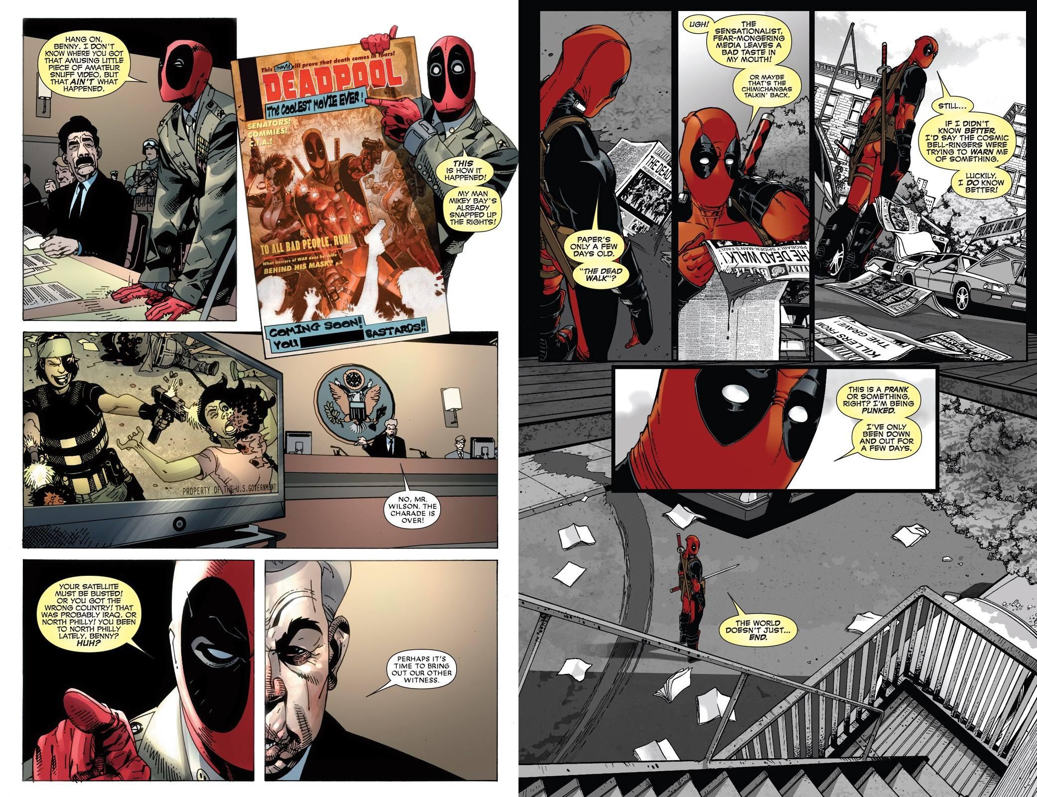 Deadpool Classic Vol 17 Headcanon review