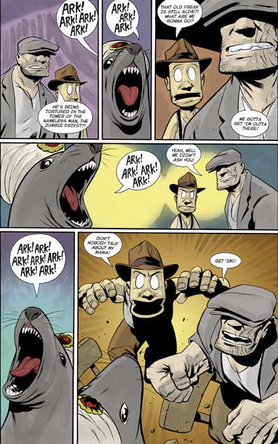The Goon Heaps of Ruination review