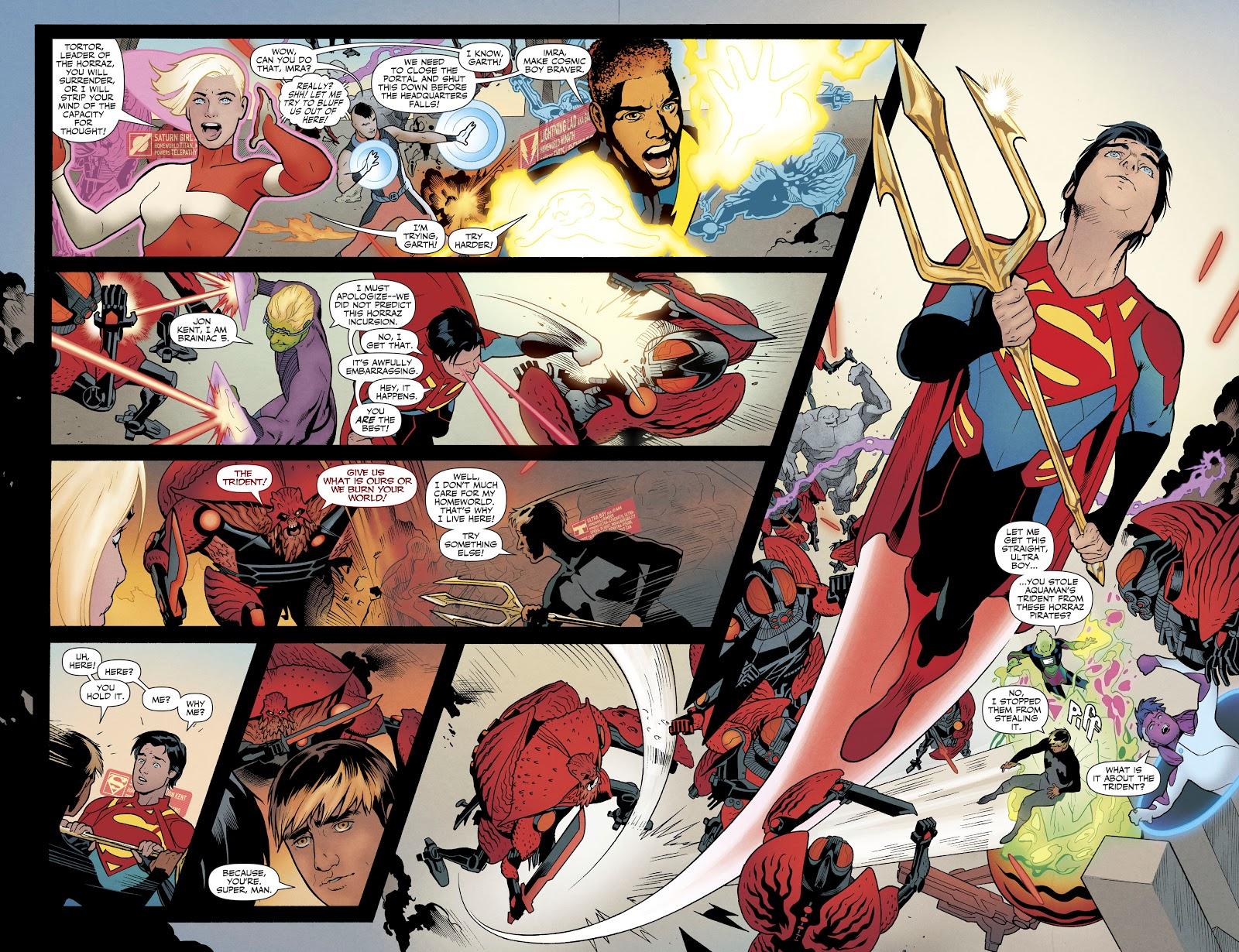 Legion of Super-Heroes Millennium review