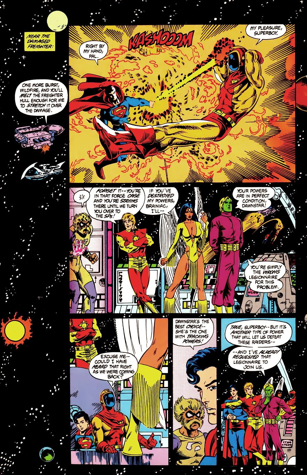 Legion of Super-Heroes The More Things Change review
