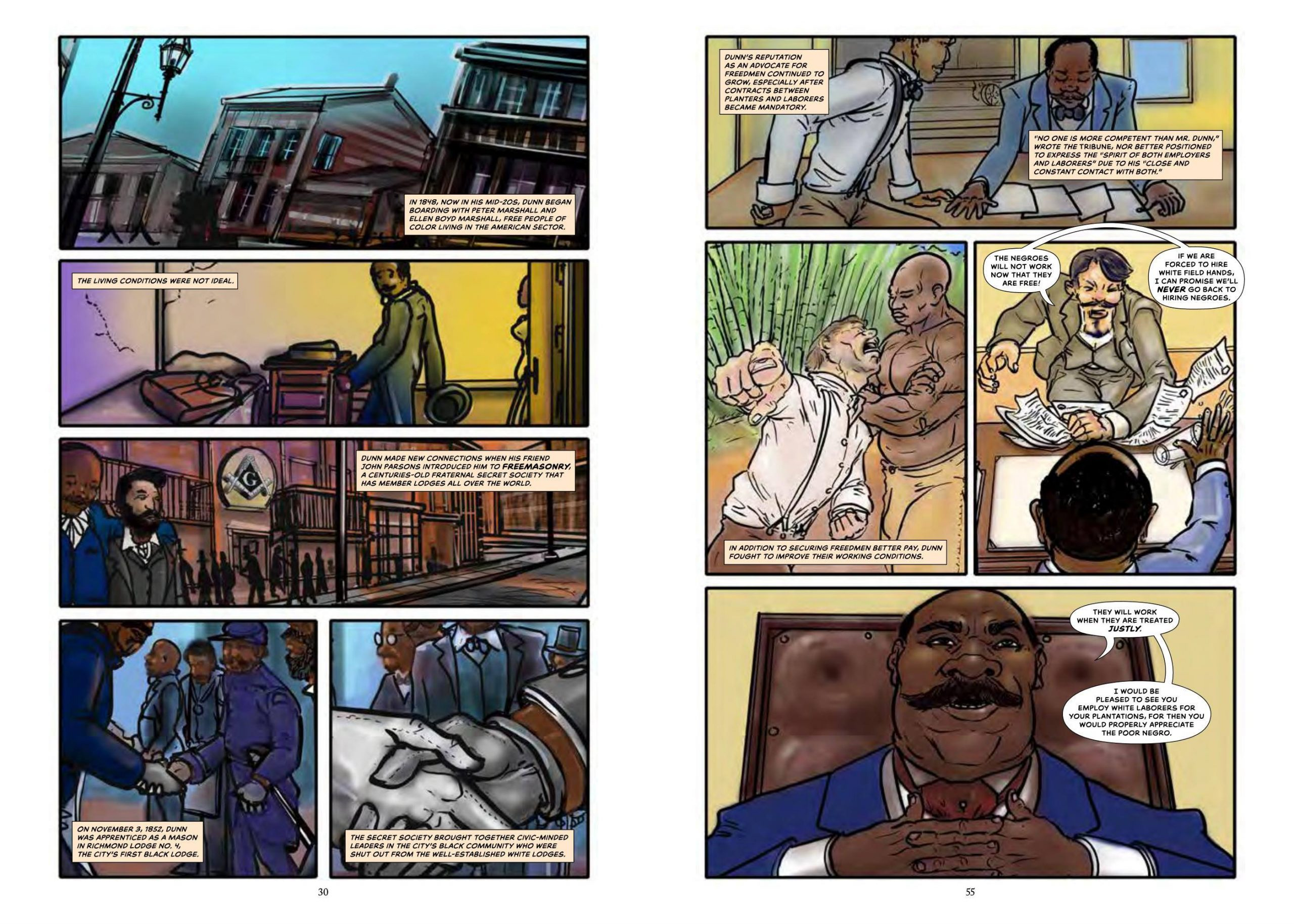 Monumental graphic novel review