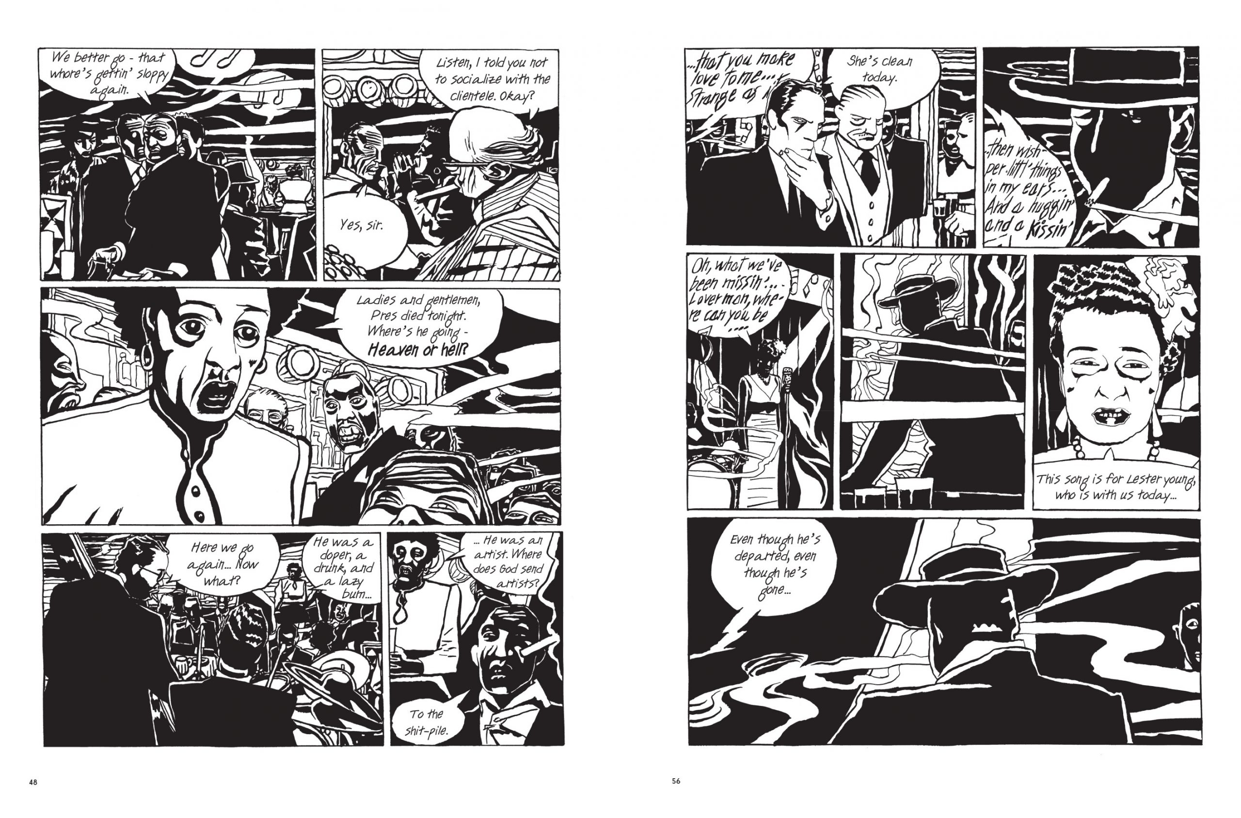 Billie Holiday graphic novel review