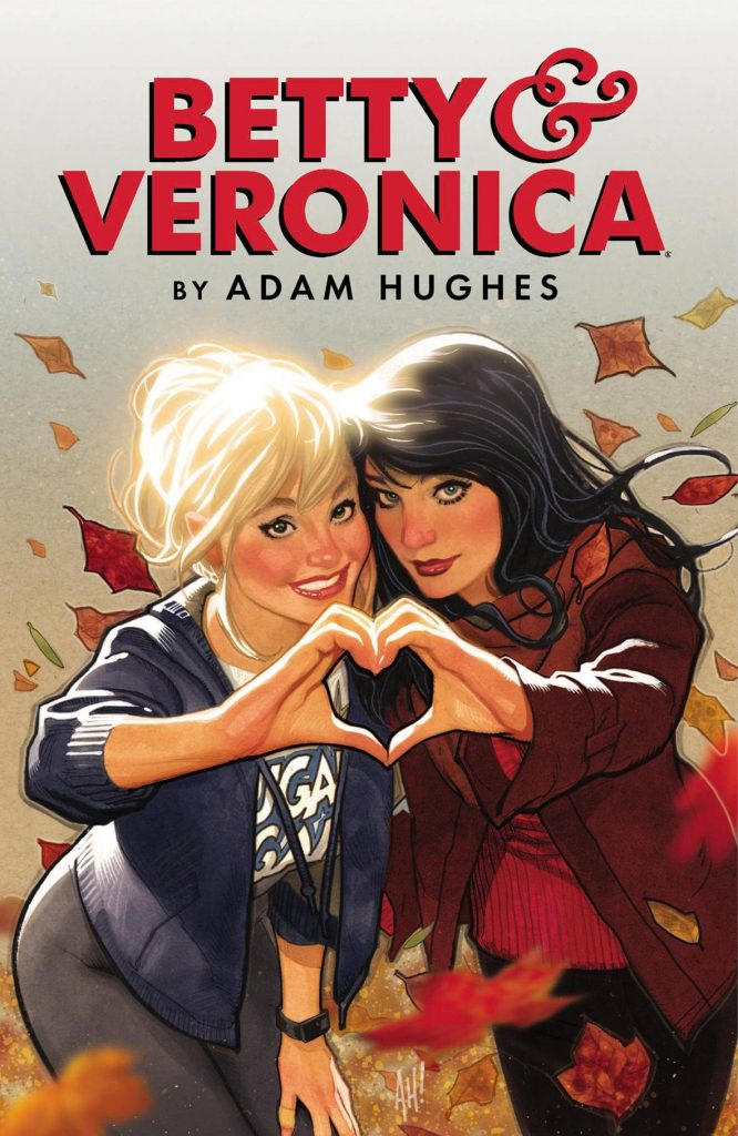 Betty & Veronica by Adam Hughes