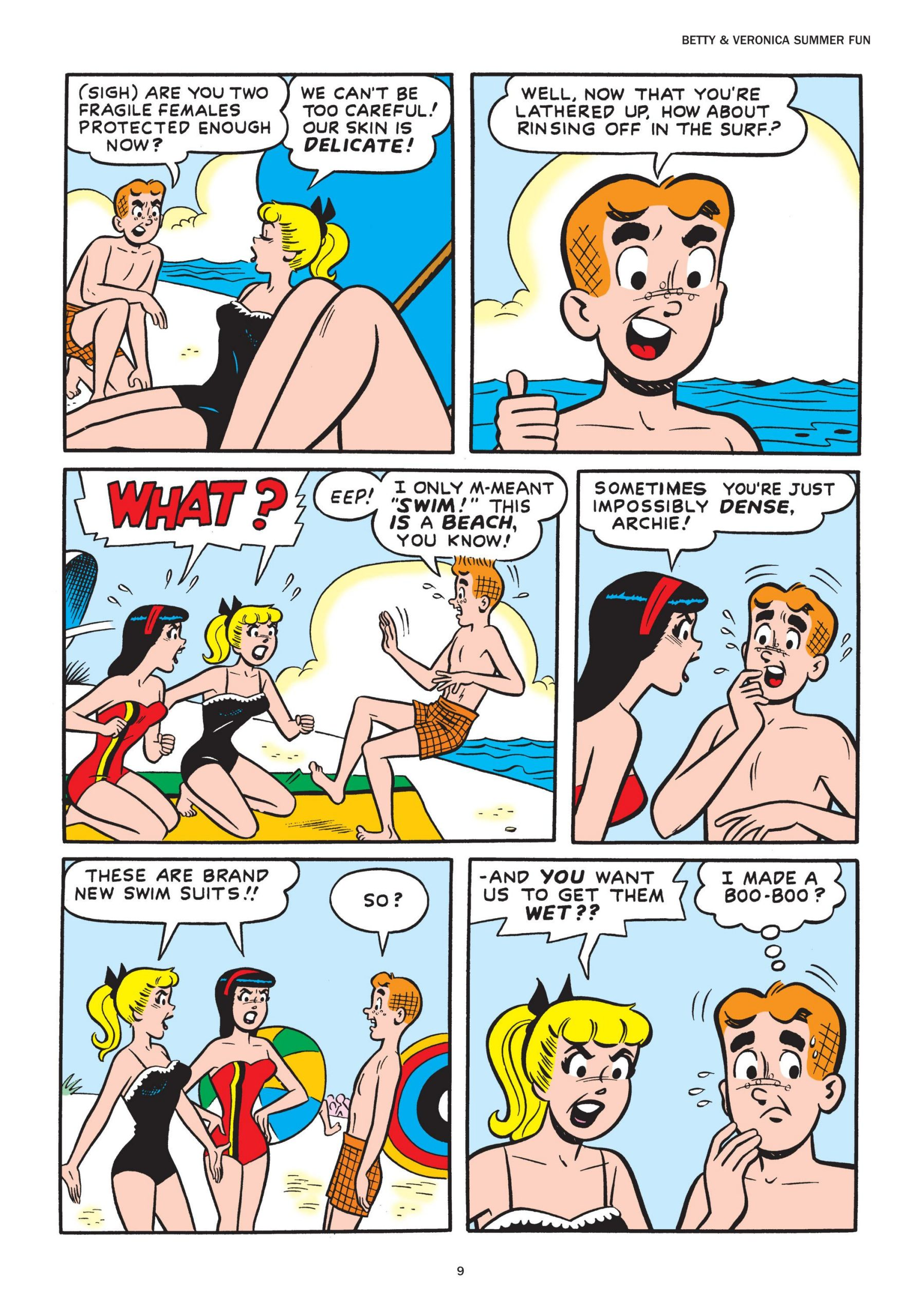 Betty and Veronica Summer Fun review