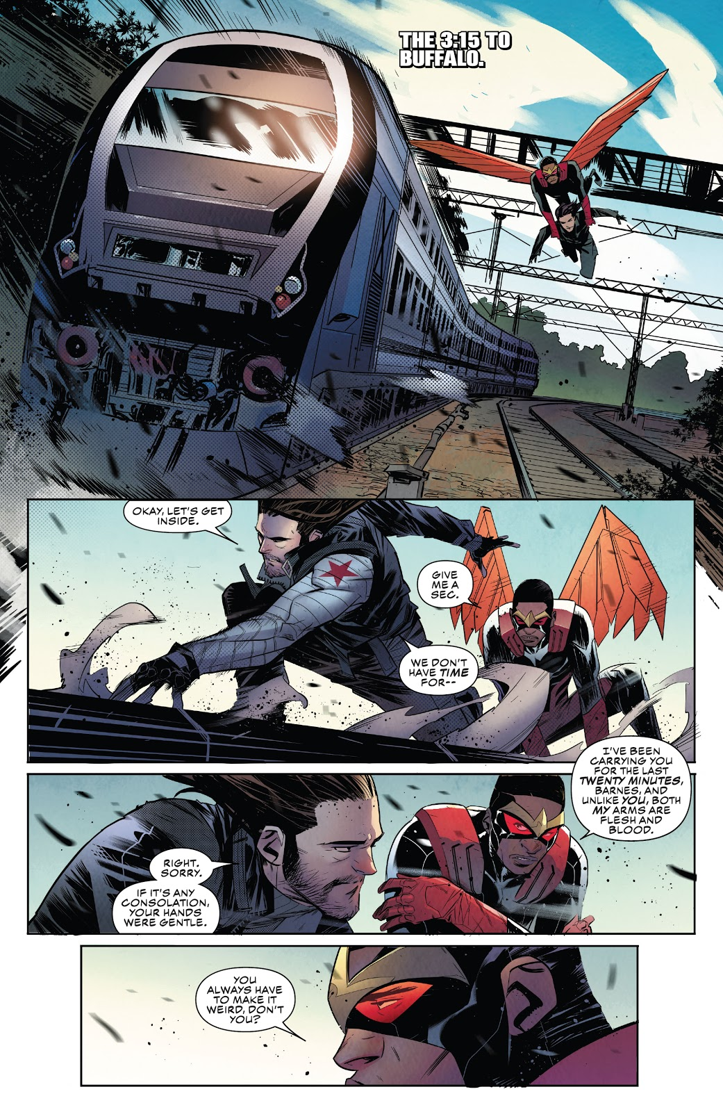 Falcon and Winter Soldier Cut off One Head review