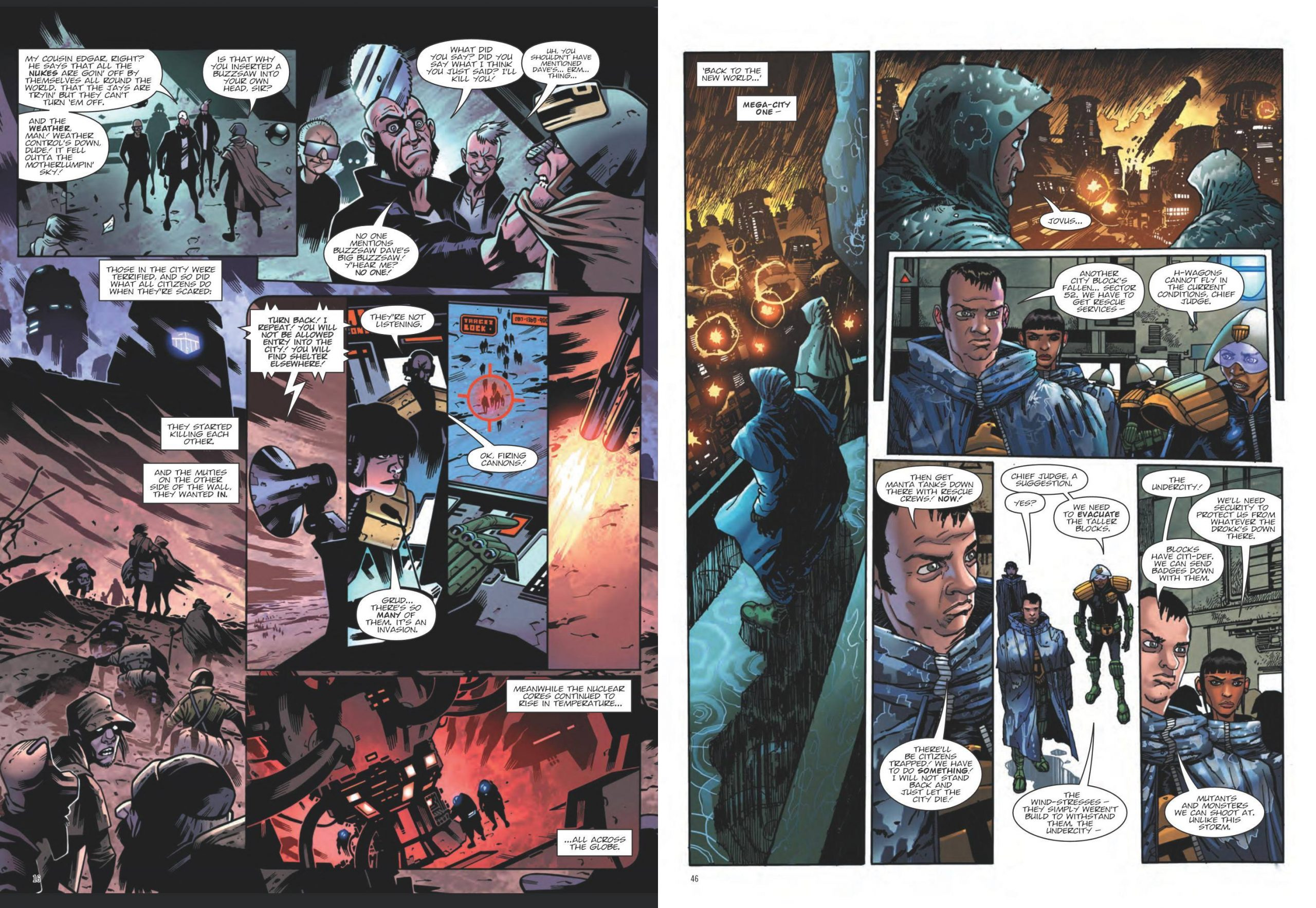 Judge Dredd - End of Days review