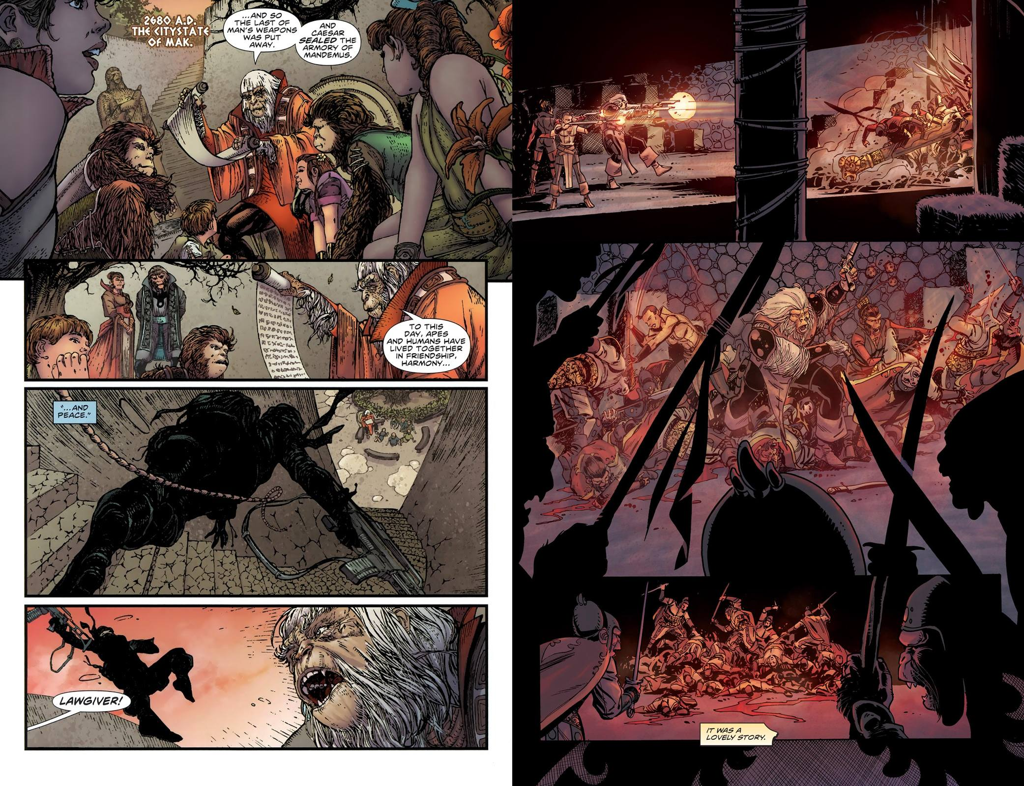 Planet of the Apes Omnibus review