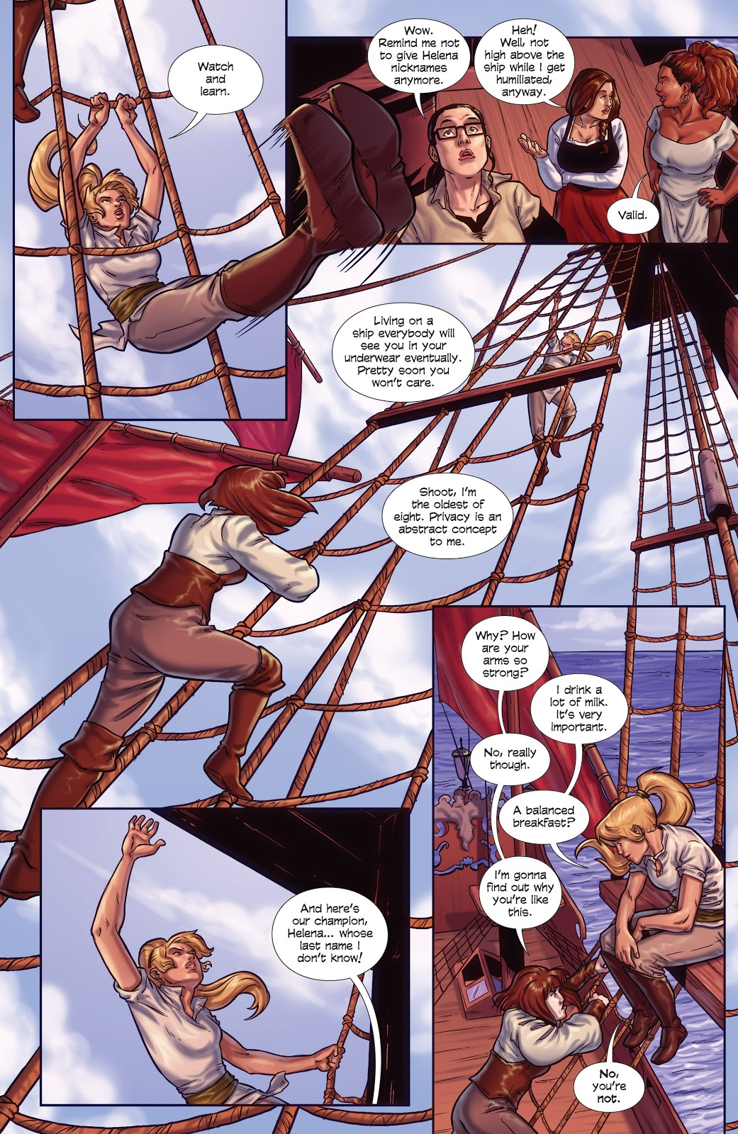 Raven the Pirate Princess Book Two Free Women review