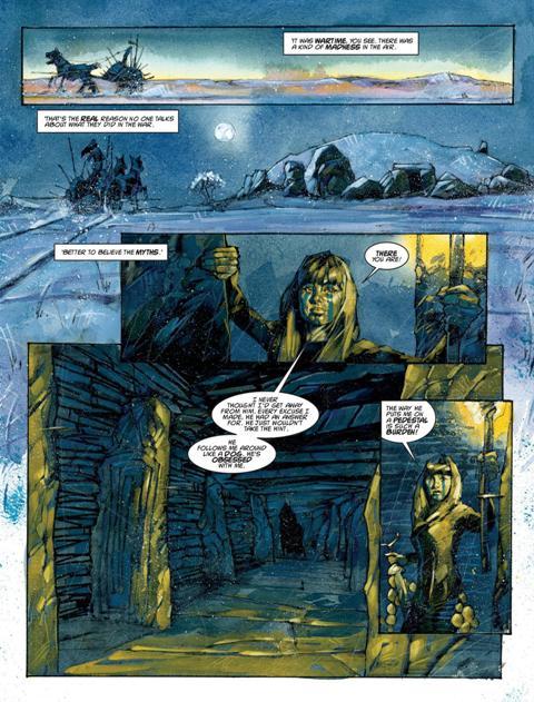 Sláine Vol 18 The Brutania Chronicles Book Four Archon Review