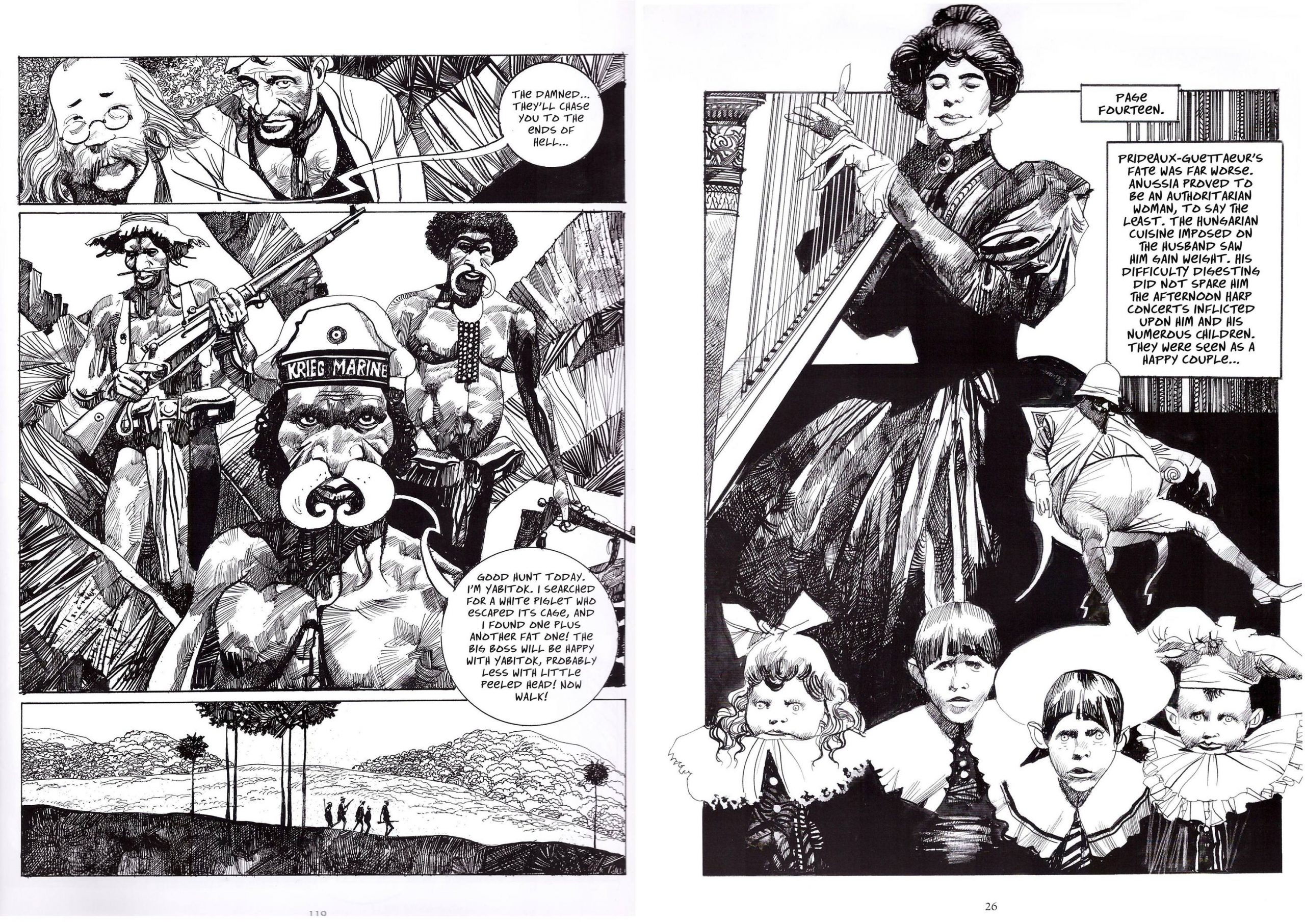 The Collected Toppi Volume Four The Cradle of Life review