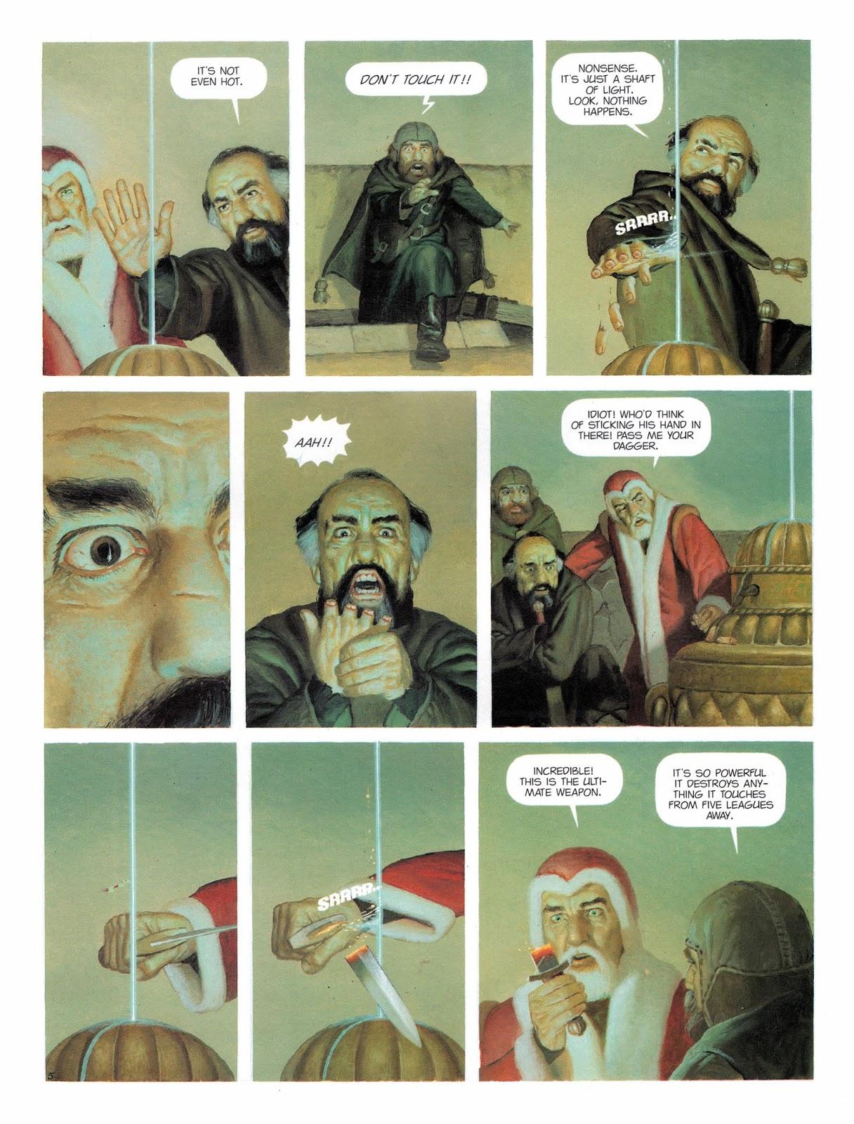 The Mercenary The Black Globe review