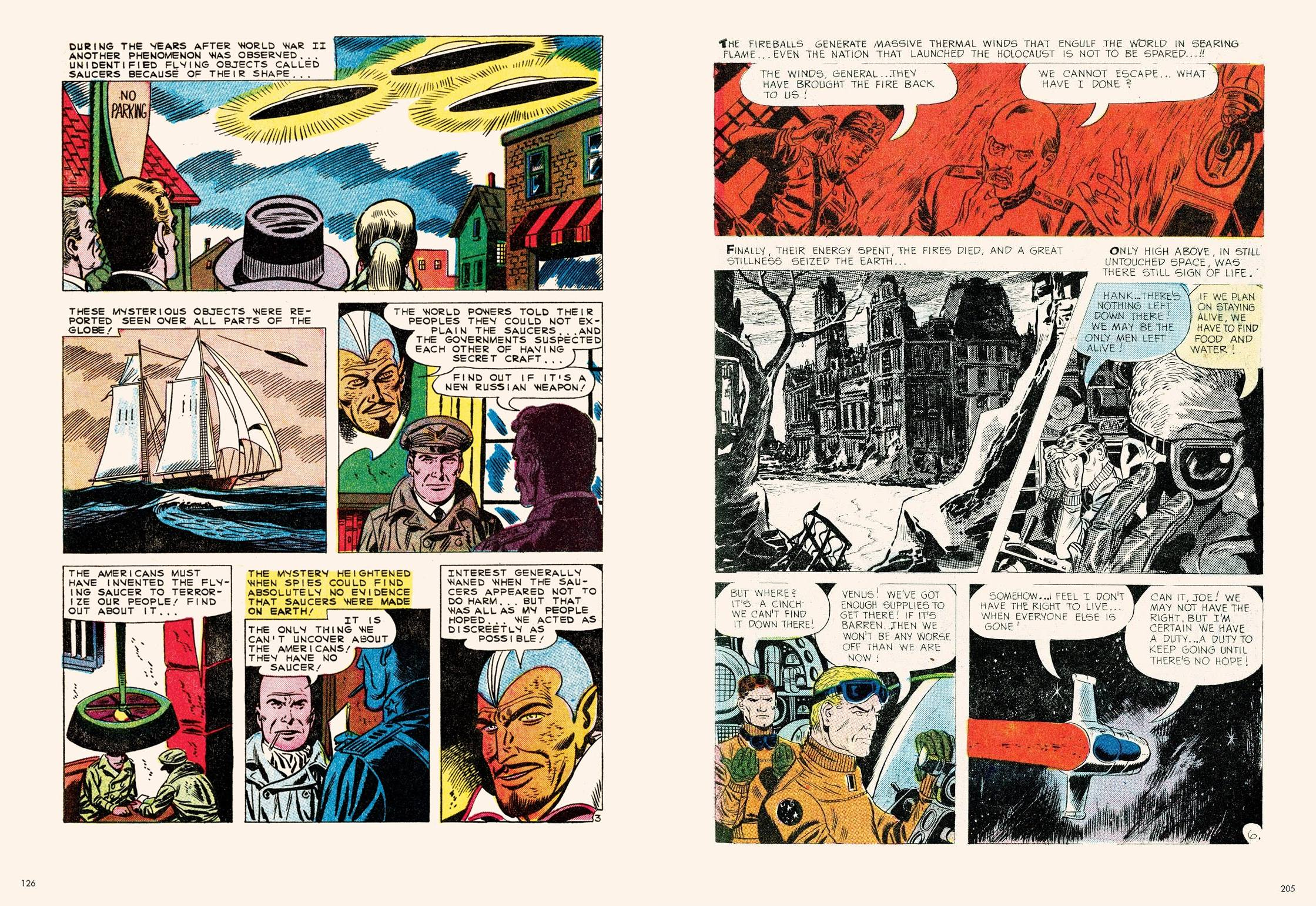 The Unknown Ant-War Comics review
